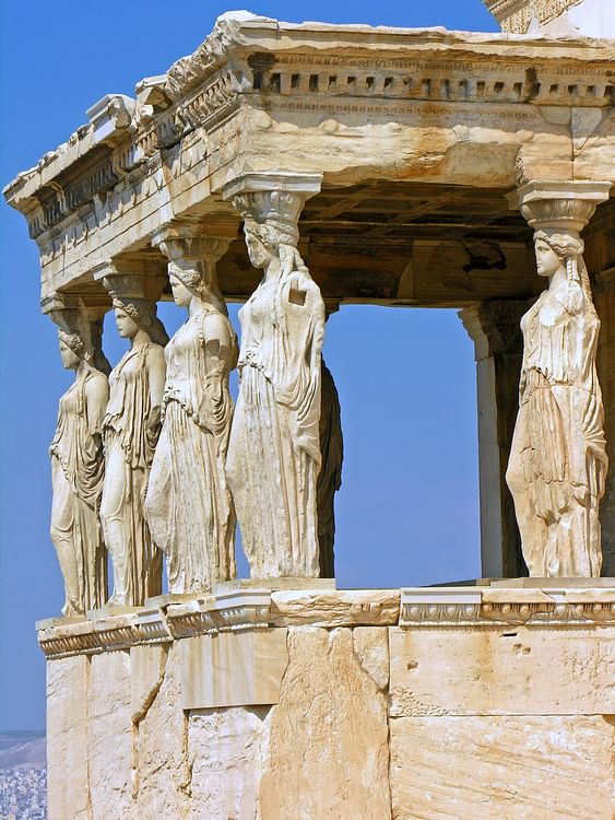Caryatids of the Erechtheion (Dennis Jarvis)