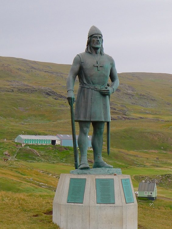 Erik the Red Statue, Greenland