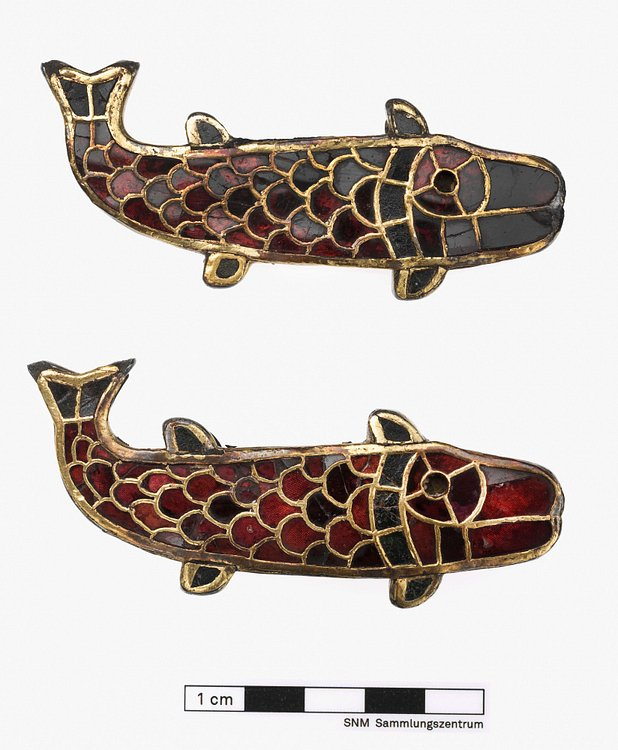 Fish-Shaped Brooches