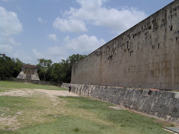 Ball Court and Thone at Chichen Itza