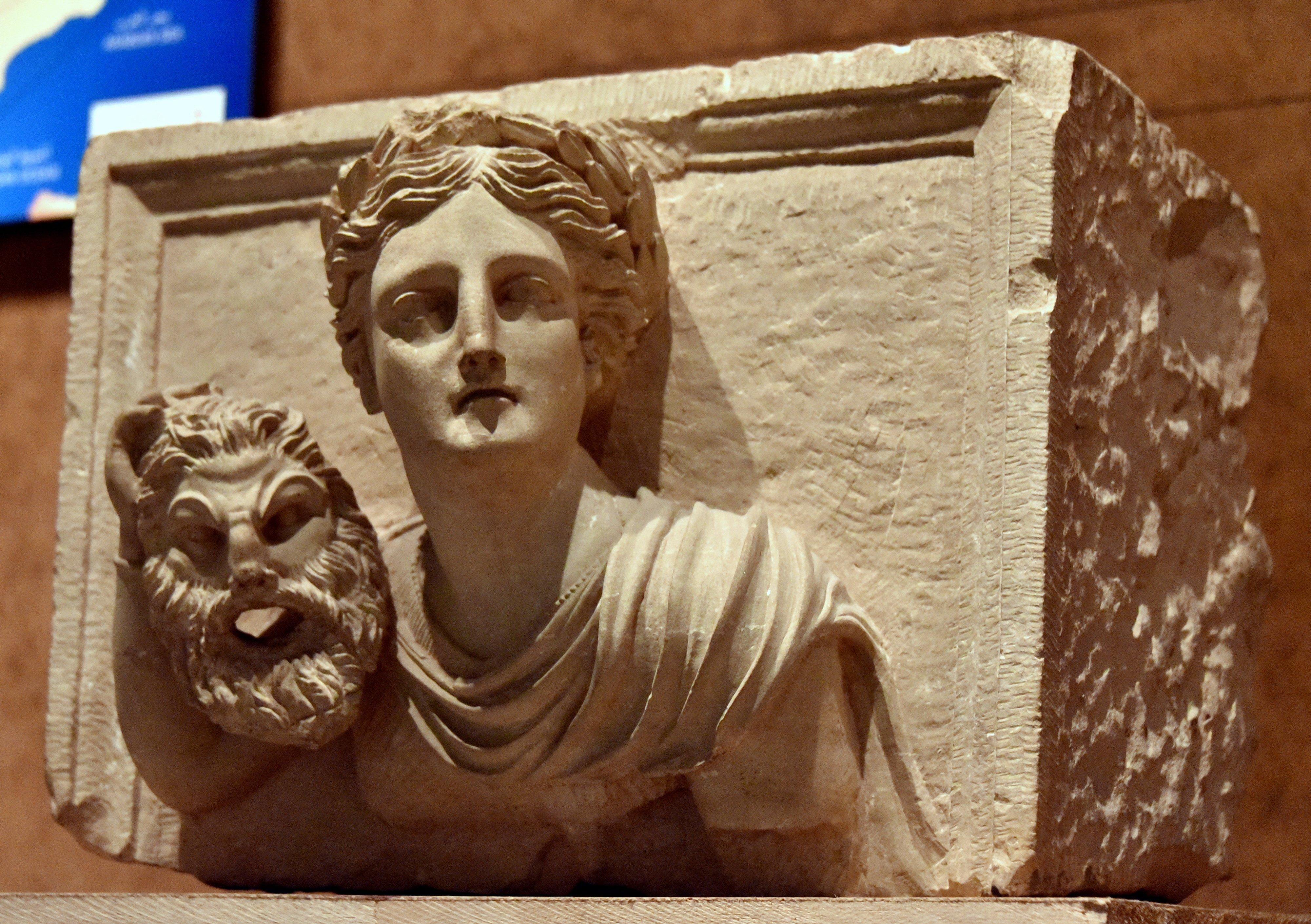 Melpomene from Raqmu-Petra