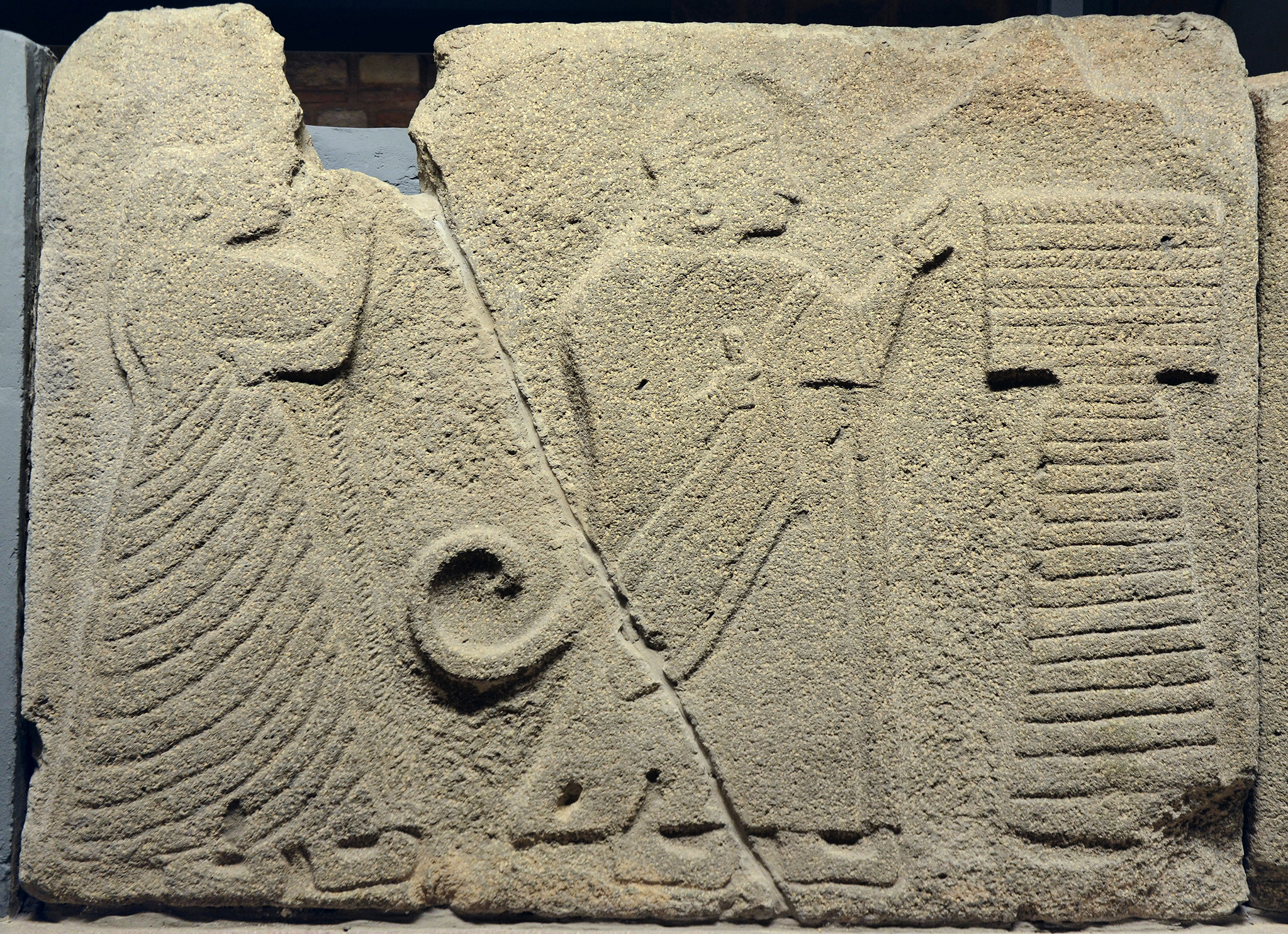 Hittite Orthostat with King and Queen (Illustration) - World History  Encyclopedia