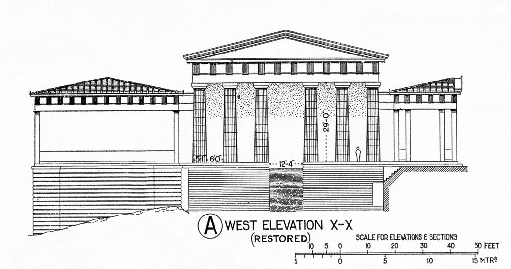 the propylea of athens by mnesicles The propylaea, the emblematic entrance of the acropolis, was built in 437-432  bc by the architect mnesicles.