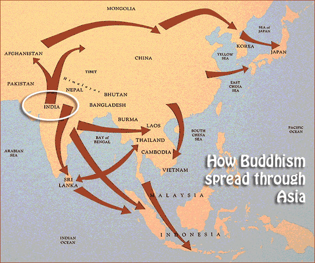 Spread of buddhism in china essays