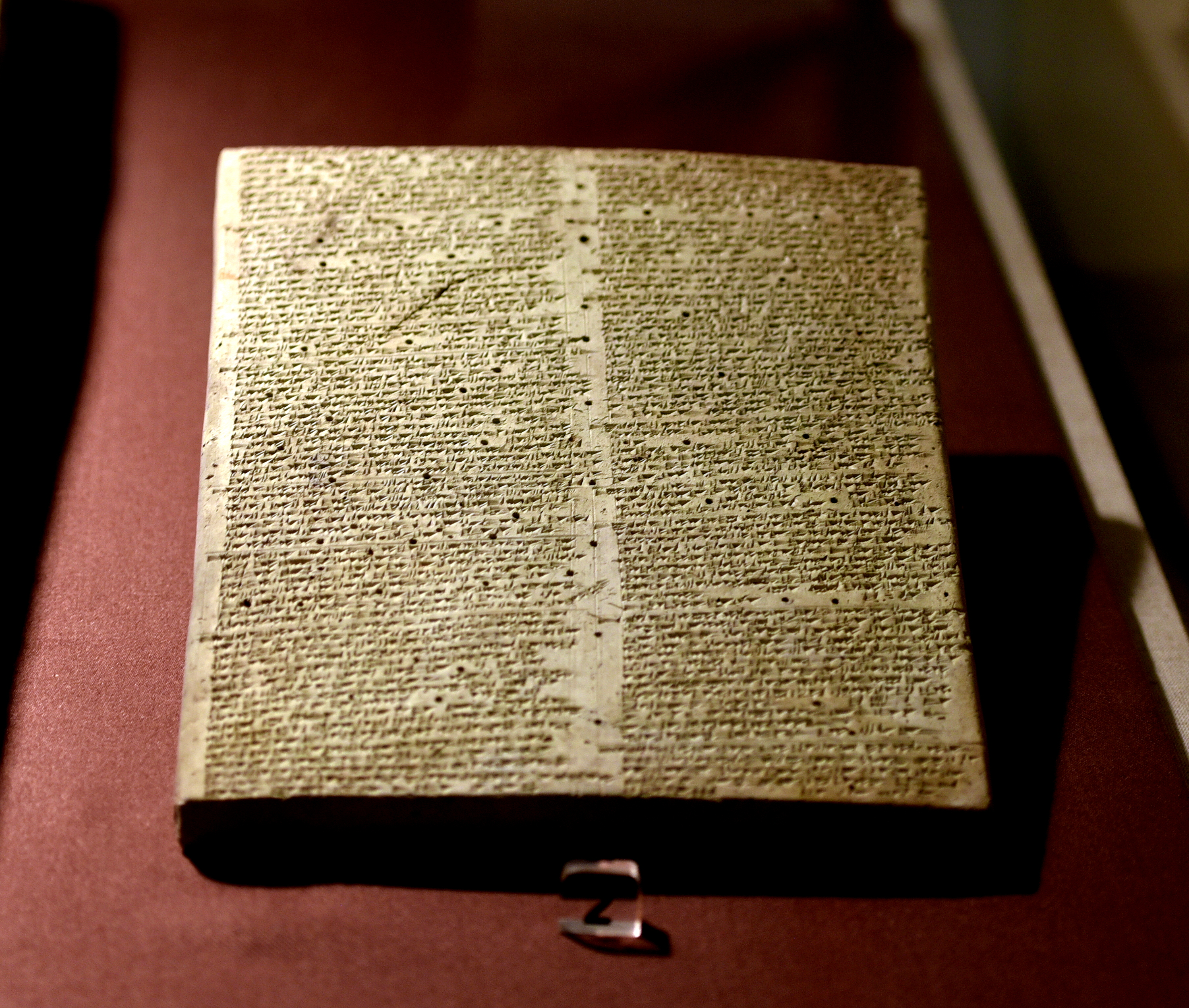 Sensational Clay Tablet Of Shalmaneser Iii From Ashur Illustration Home Interior And Landscaping Transignezvosmurscom