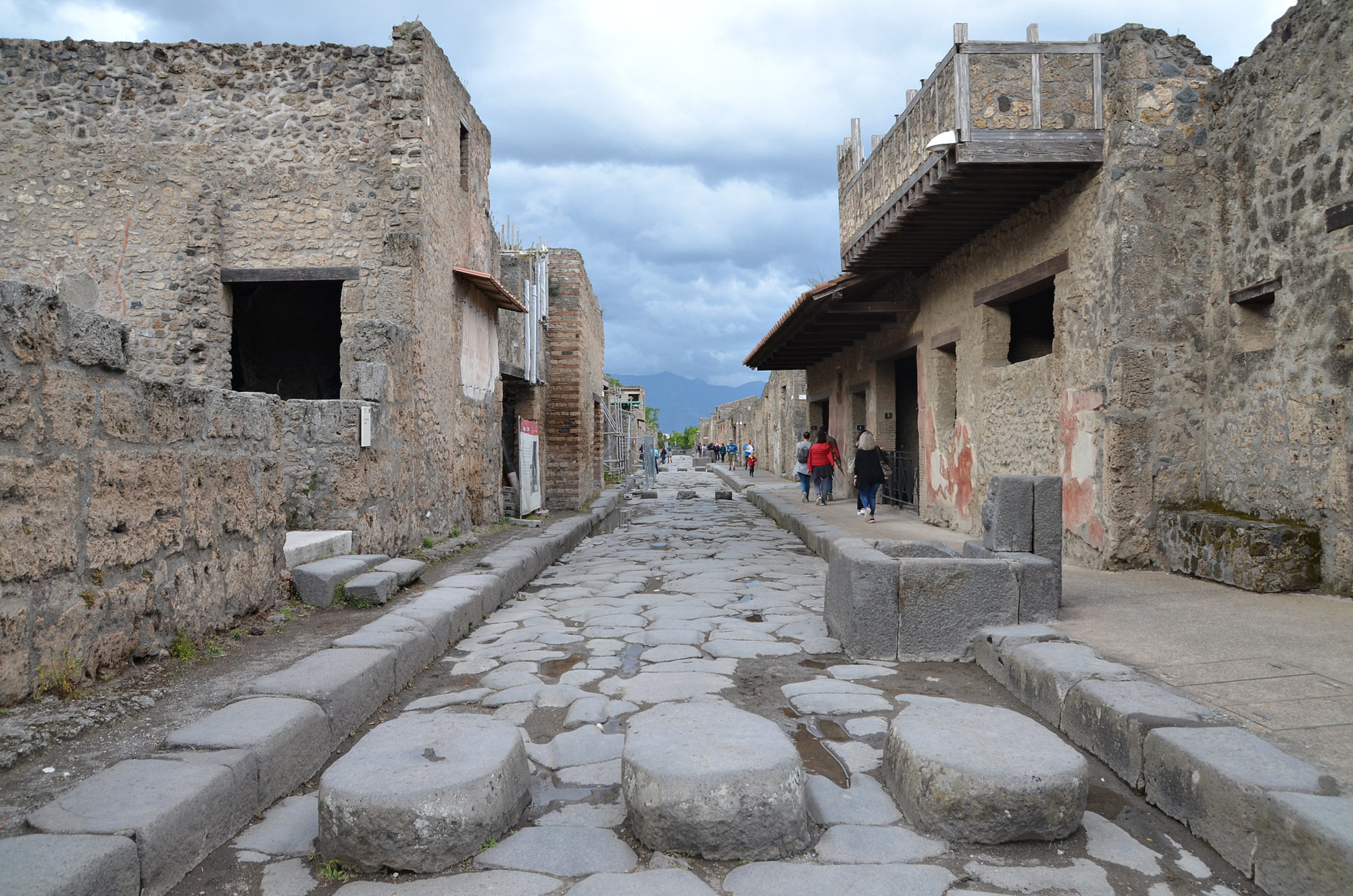 The Streets of Pompeii (Illustration) - Ancient History Encyclopedia