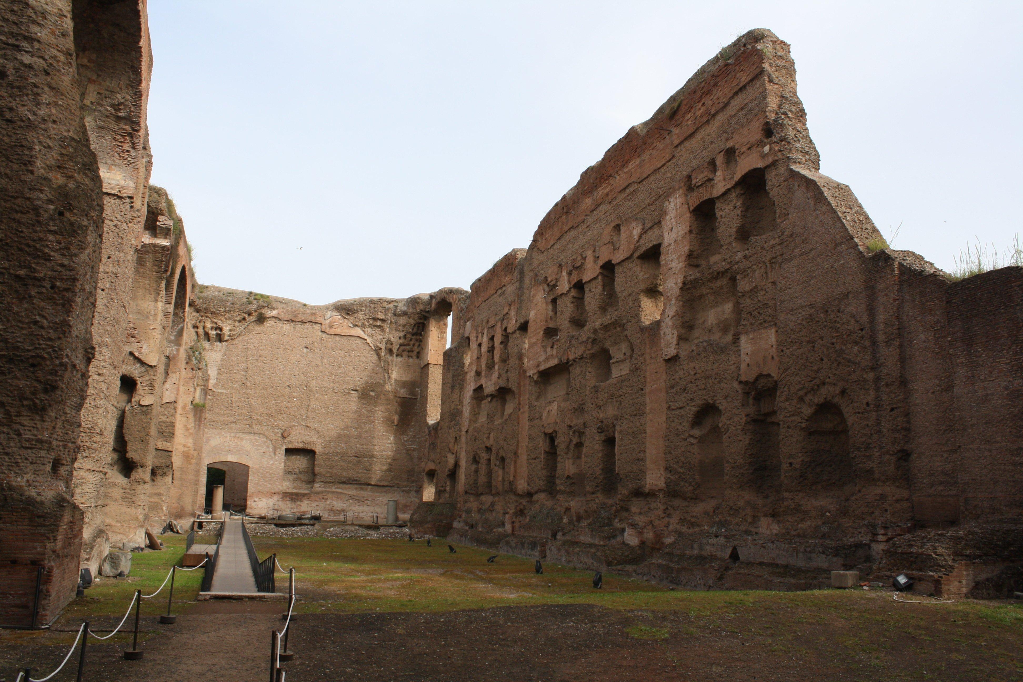 Exceptional Natatio, Baths Of Caracalla Design