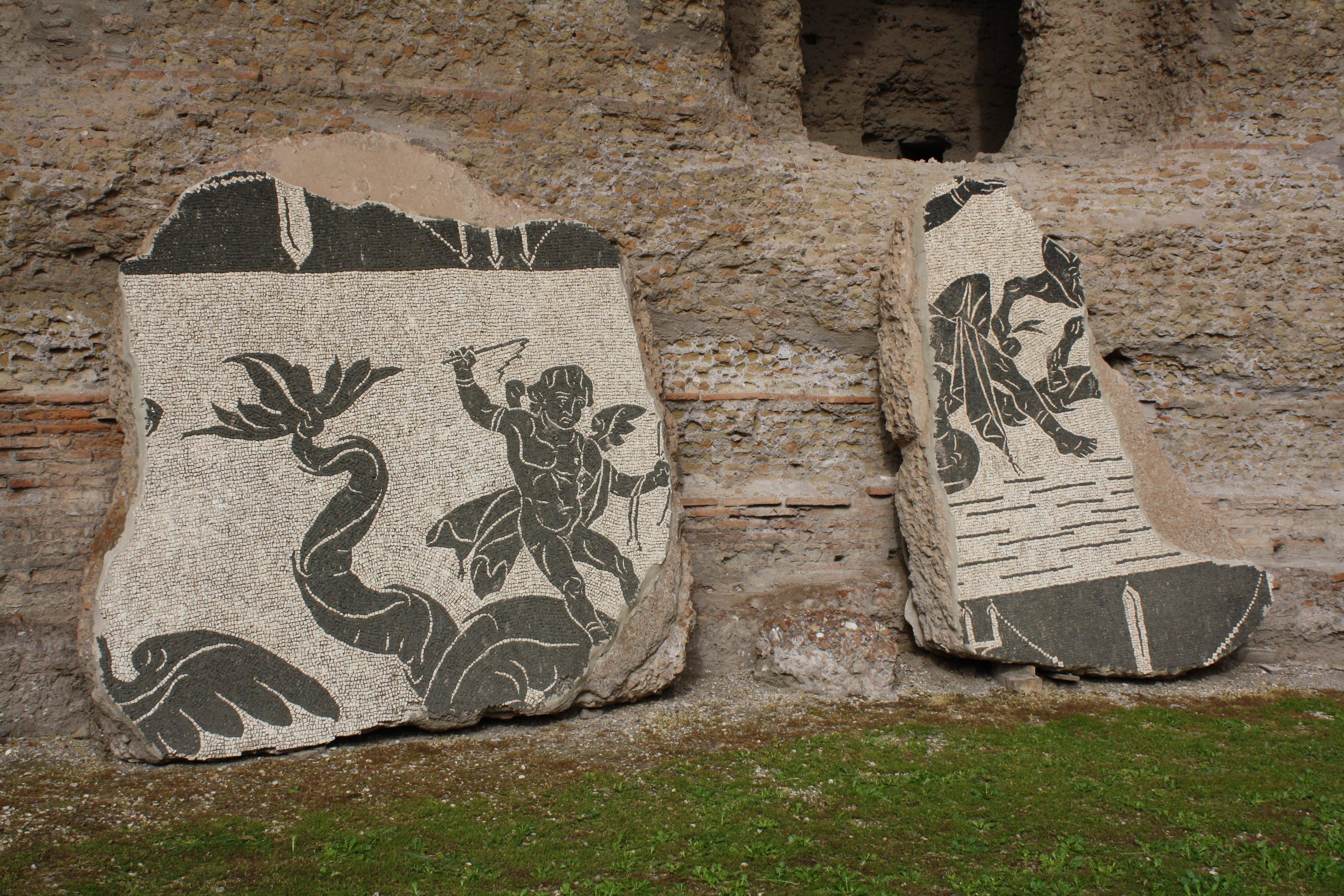 Mosaic, Baths Of Caracalla