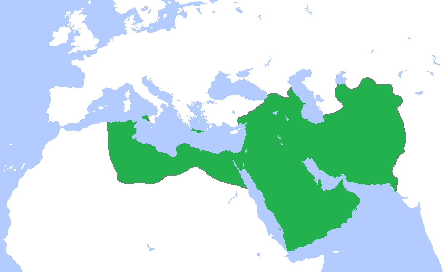 Map of the Abbasid Empire (Illustration) - Ancient History Encyclopedia