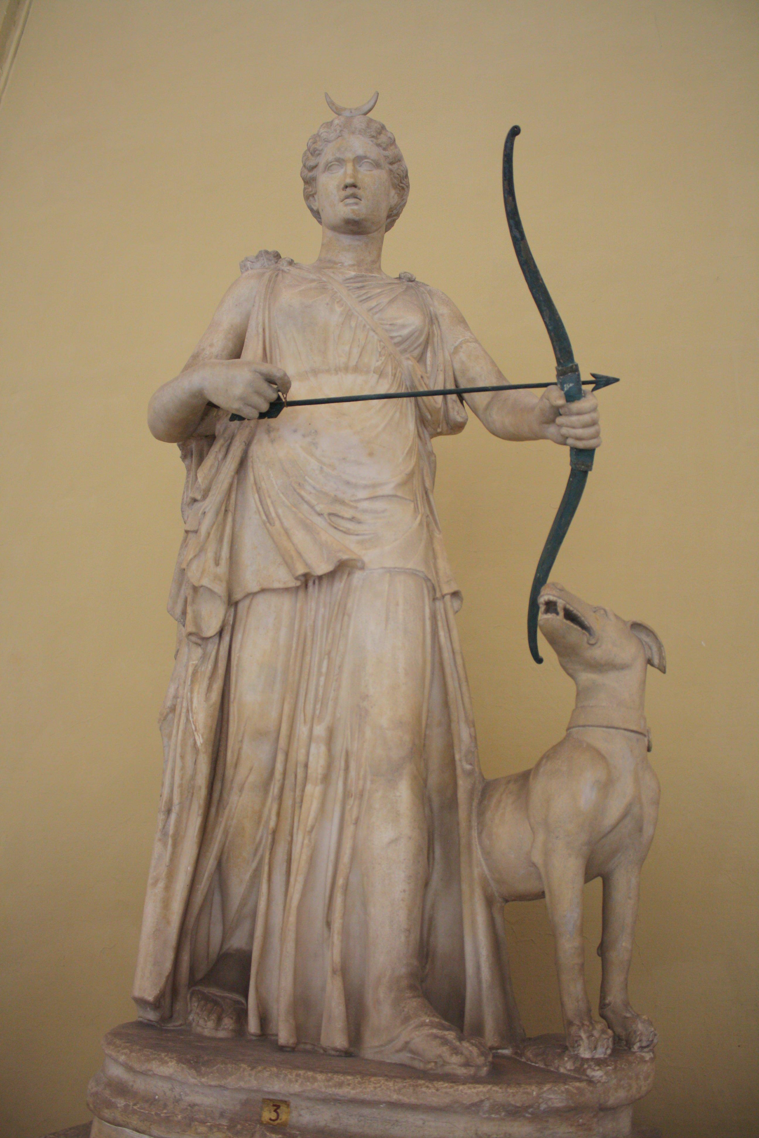 Artemis illustration ancient history encyclopedia