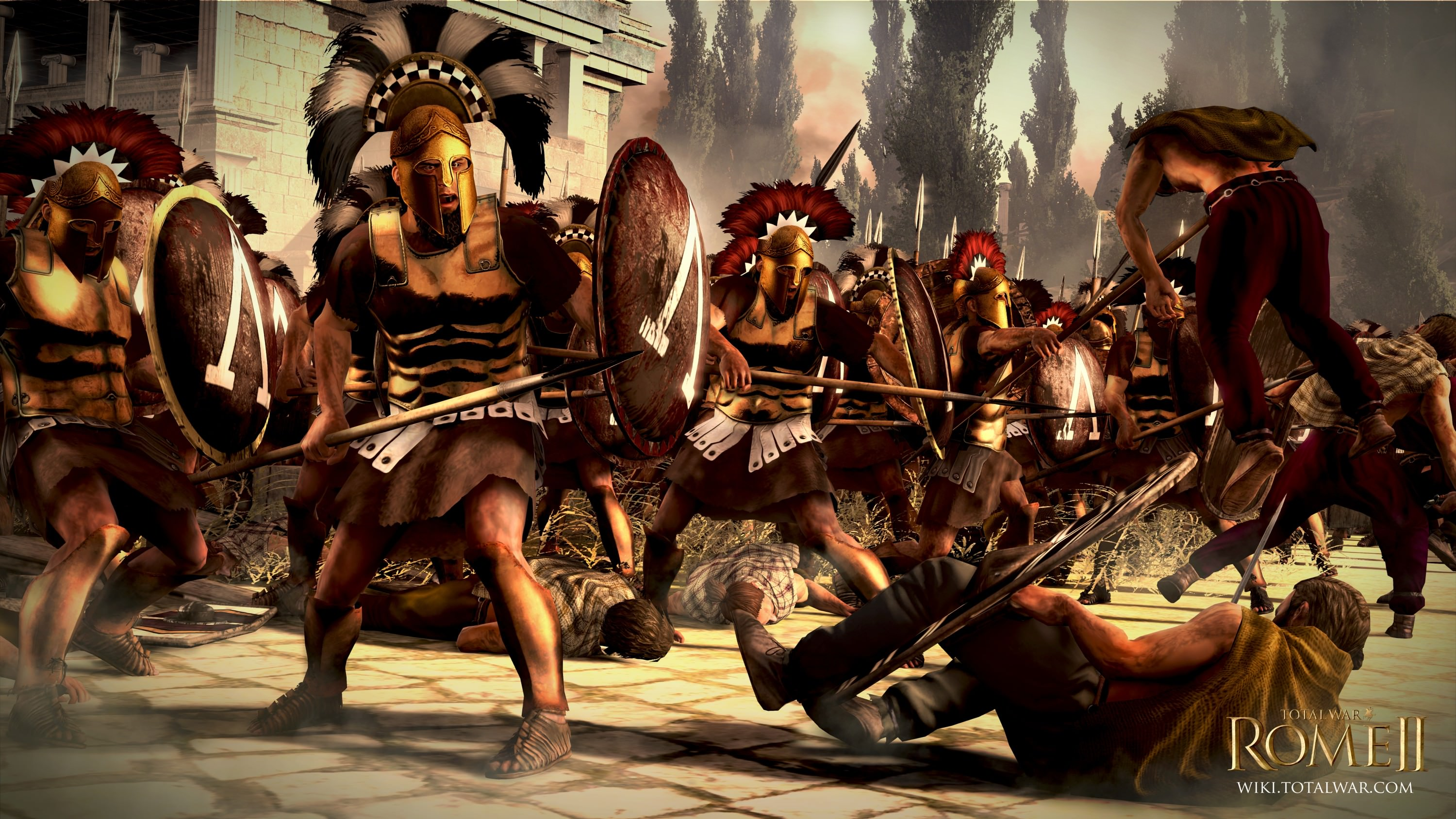 Spartan Warriors The Creative Assembly