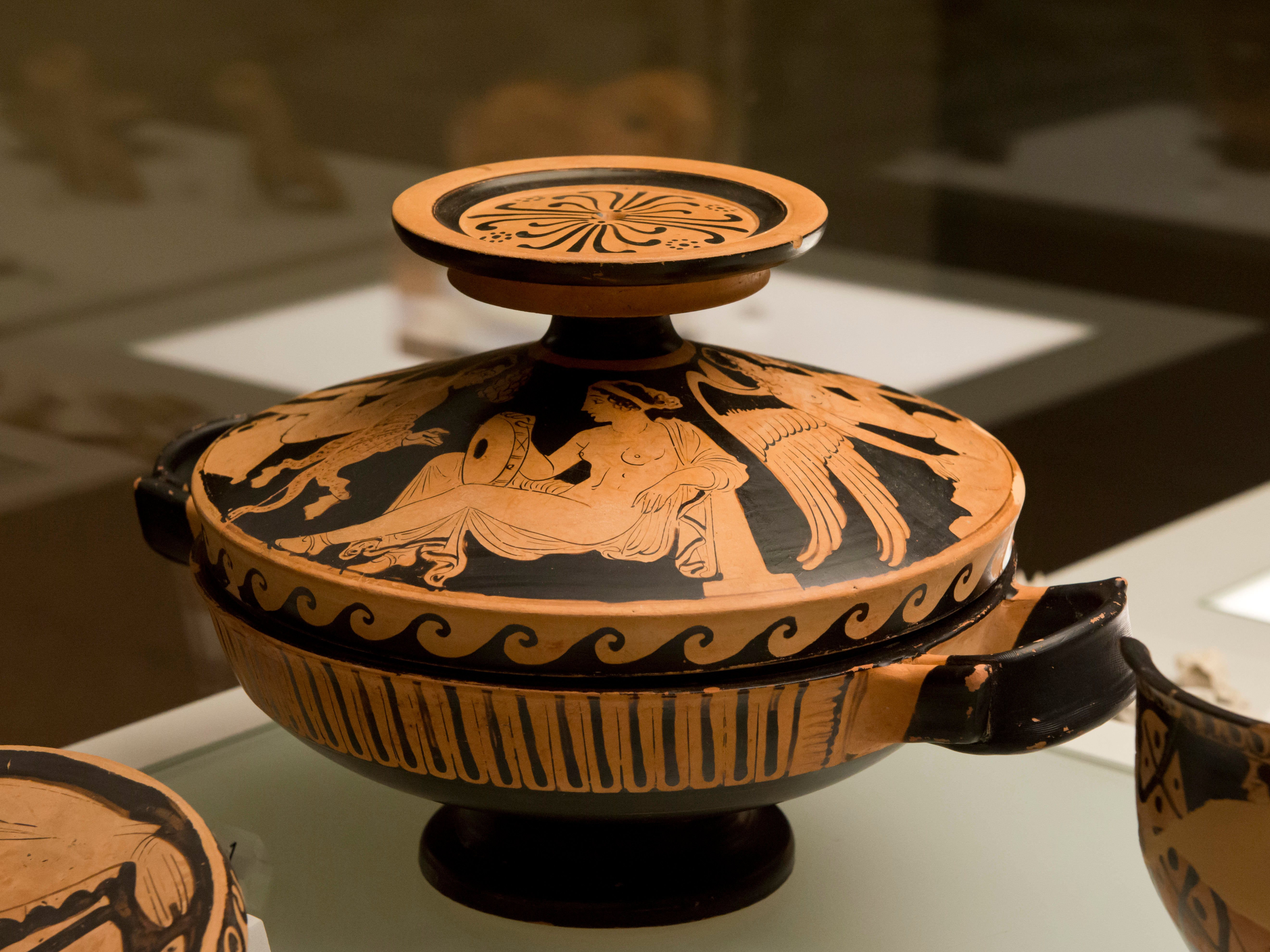 A visual glossary of greek pottery article ancient history attic lekanis reviewsmspy