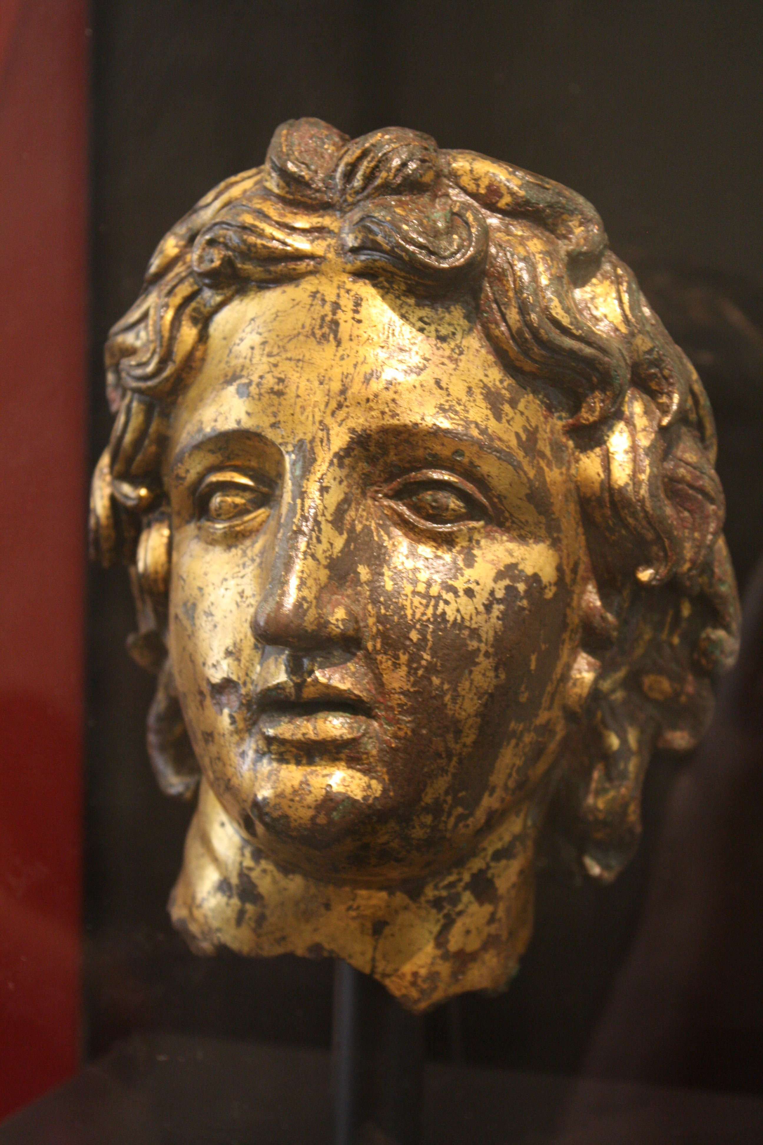 Image result for ancient greek alexander the great drinking