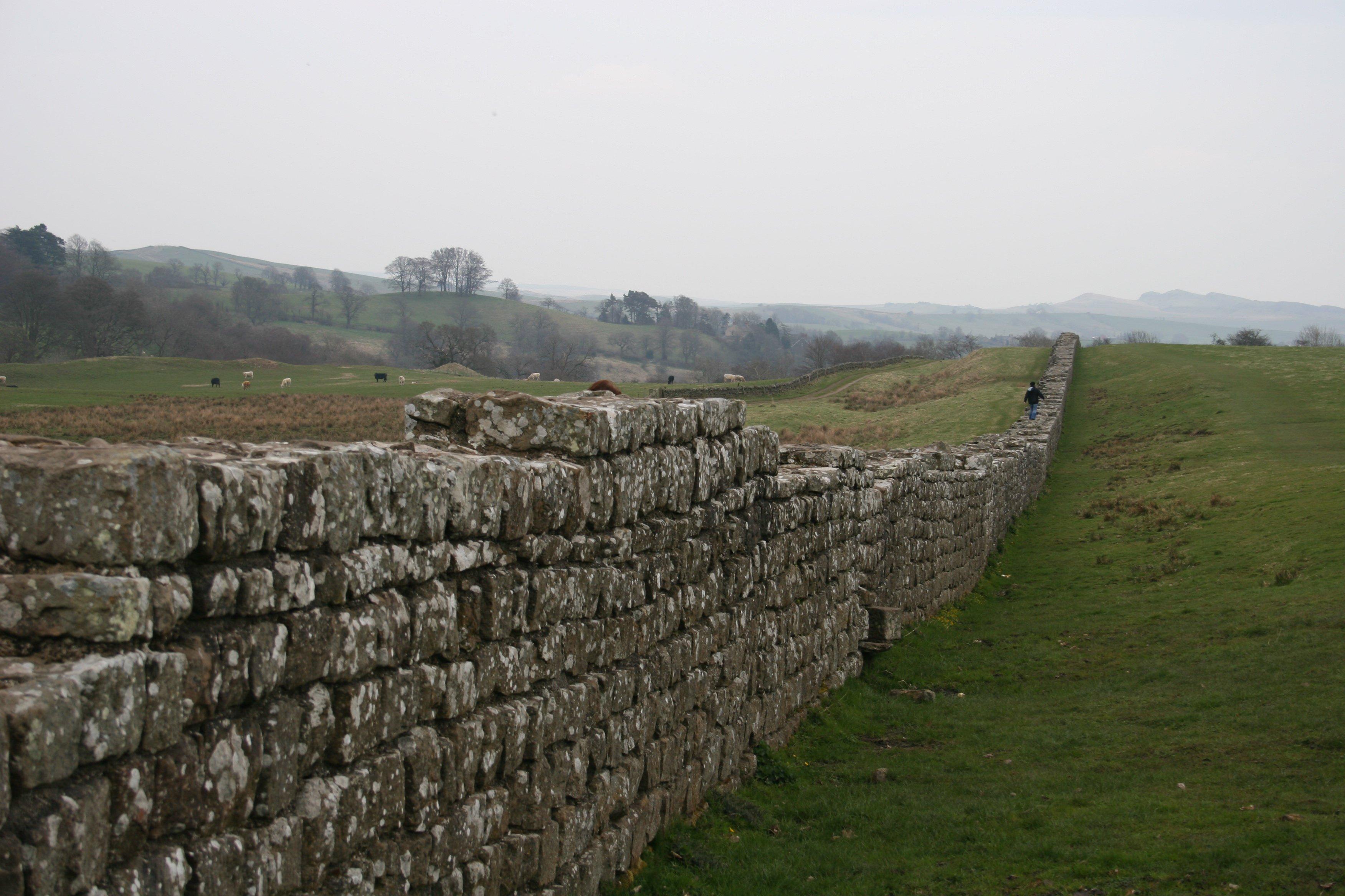Hadrian S Wall Illustration Ancient History Encyclopedia