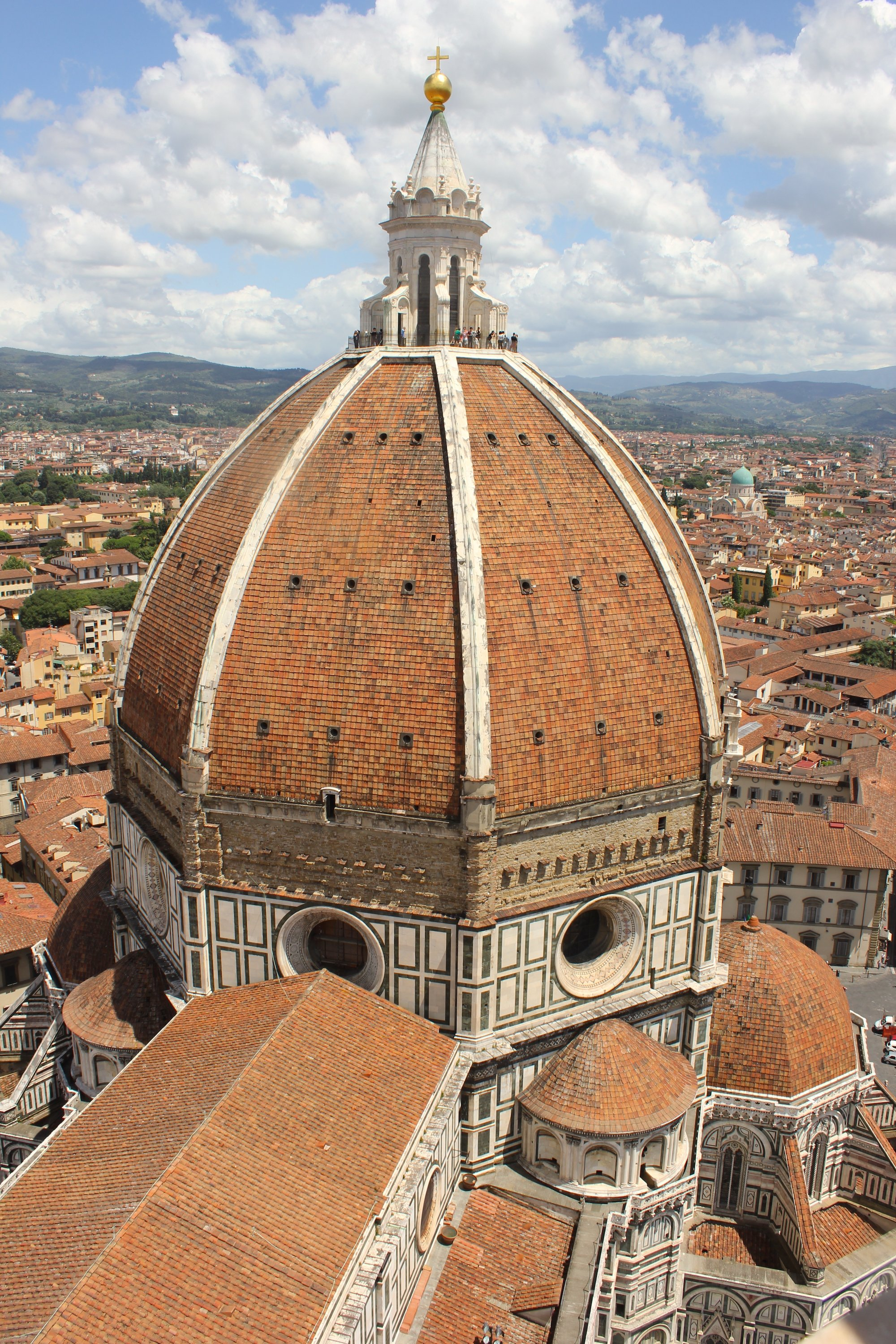 Dome of Florence Cathedral by Brunelleschi (Illustration) - World History  Encyclopedia