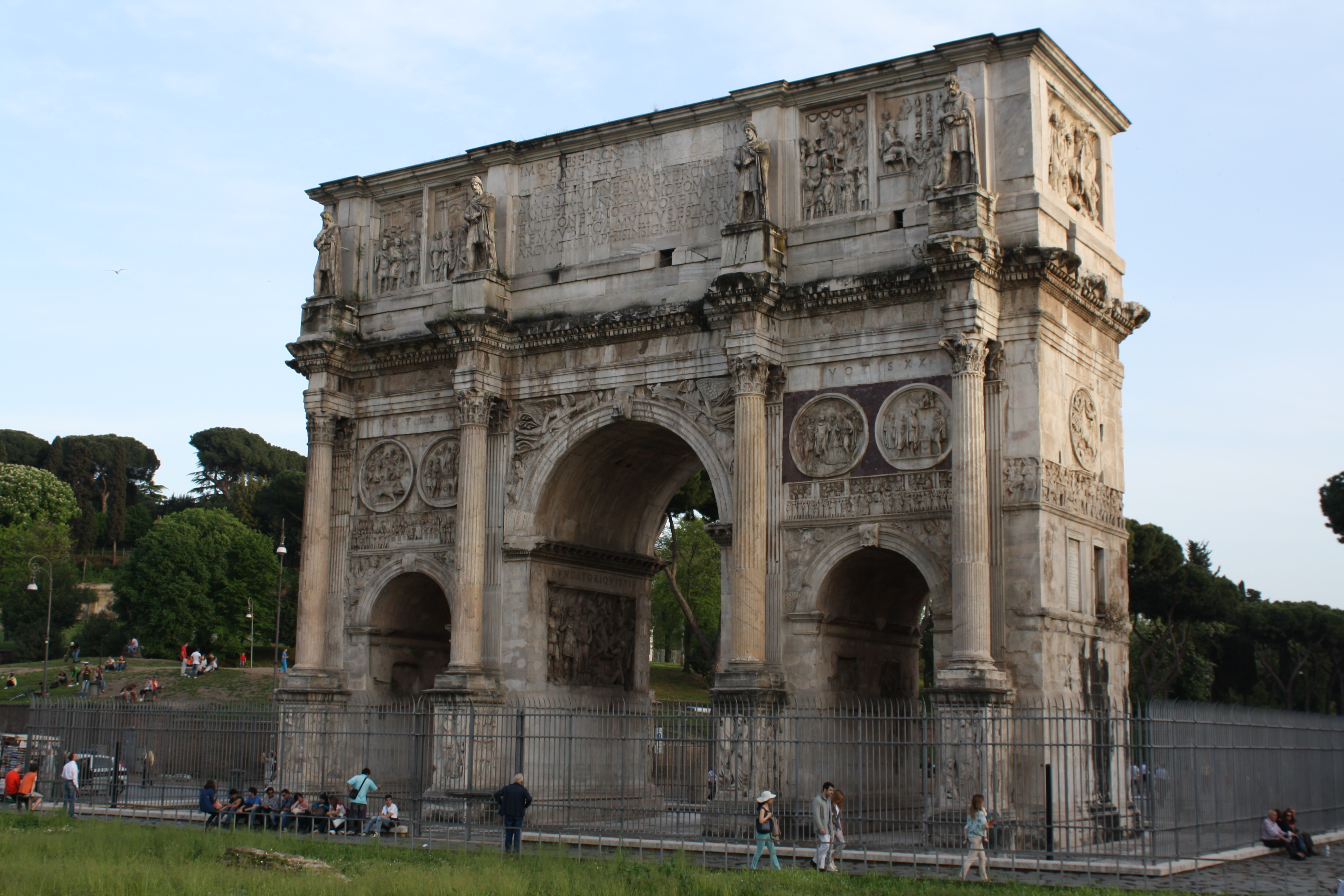 Arch Of Constantine I Illustration Ancient History