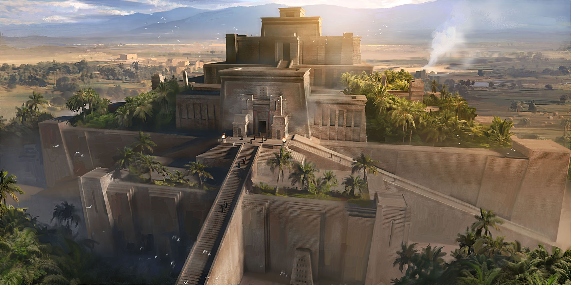Ziggurat of Ur (Artist's Impression) (Illustration) - Ancient History Encyclopedia