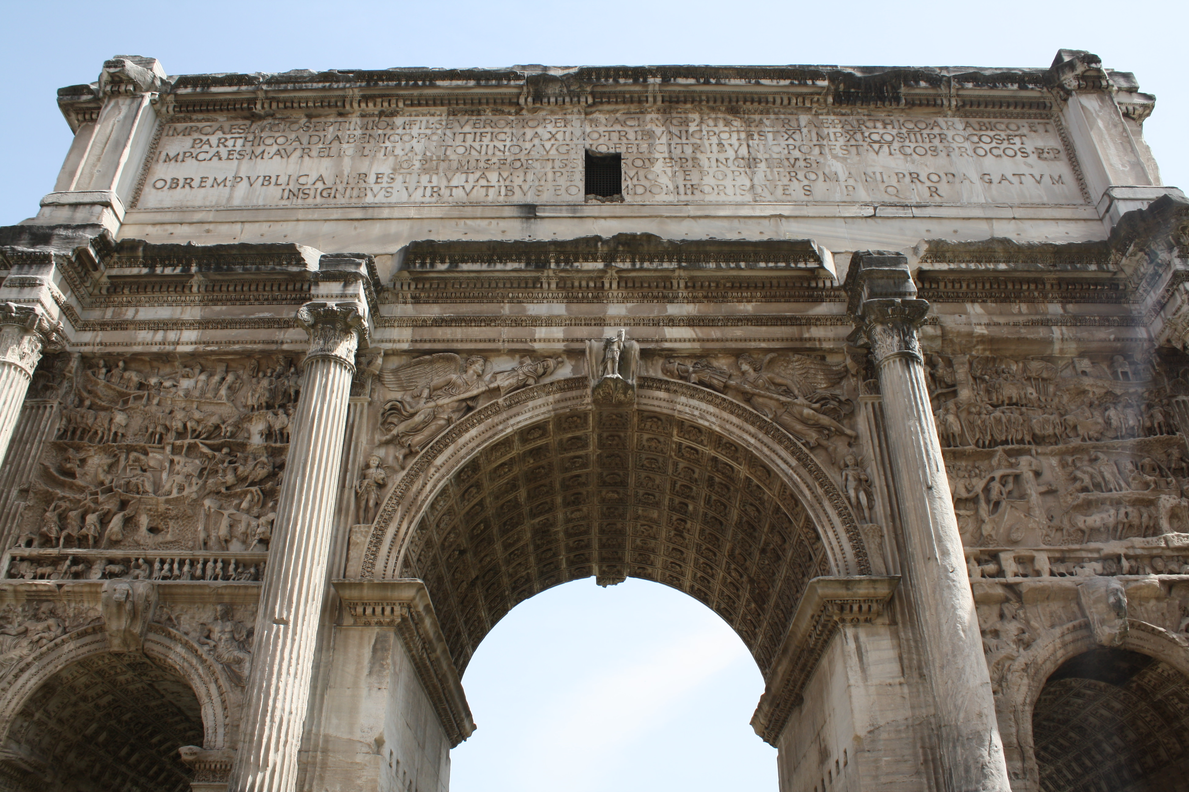 Ancient Roman Architecture Columns Monument To Roman Vanity