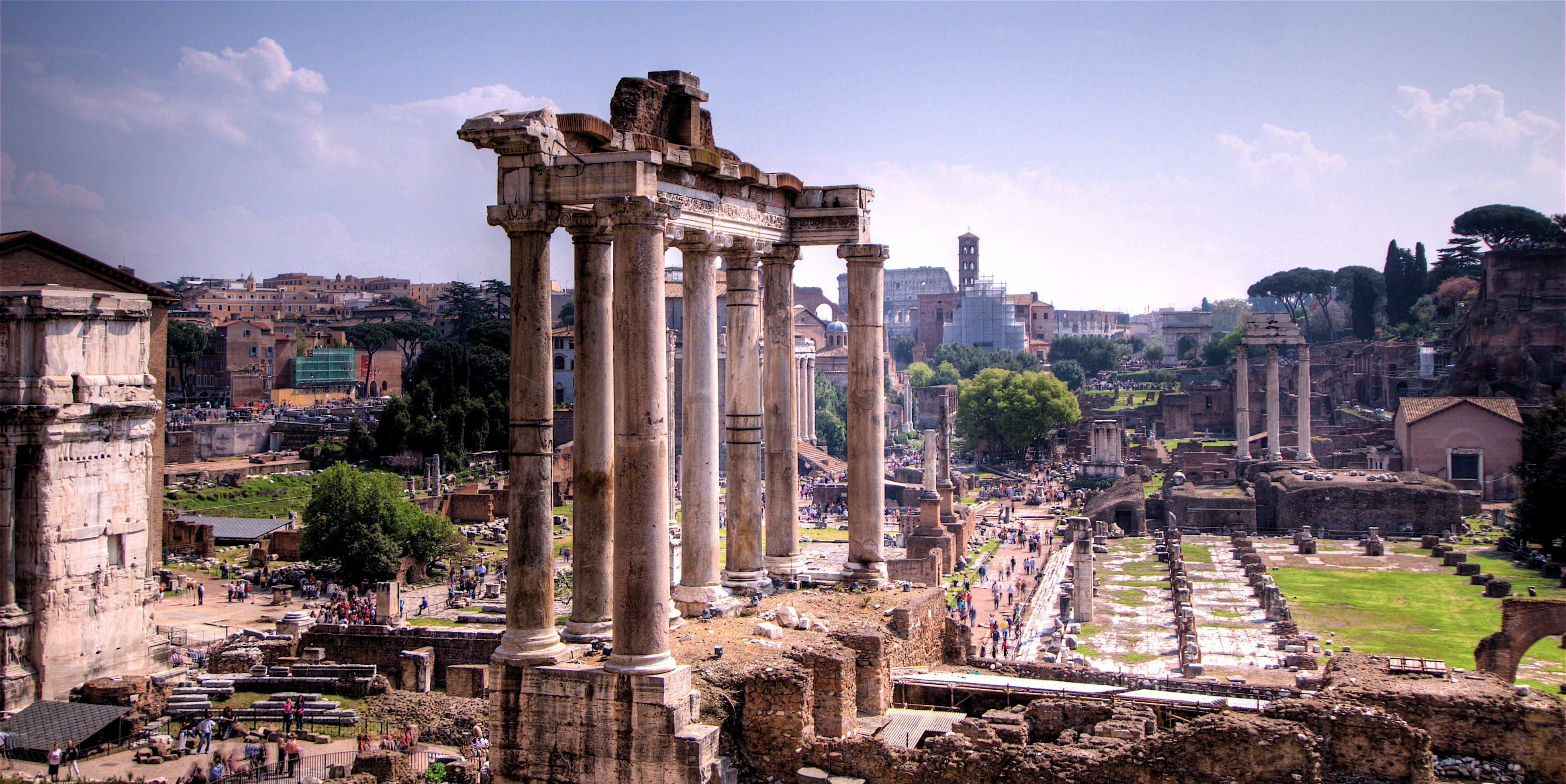 Forum romanum illustration ancient history encyclopedia