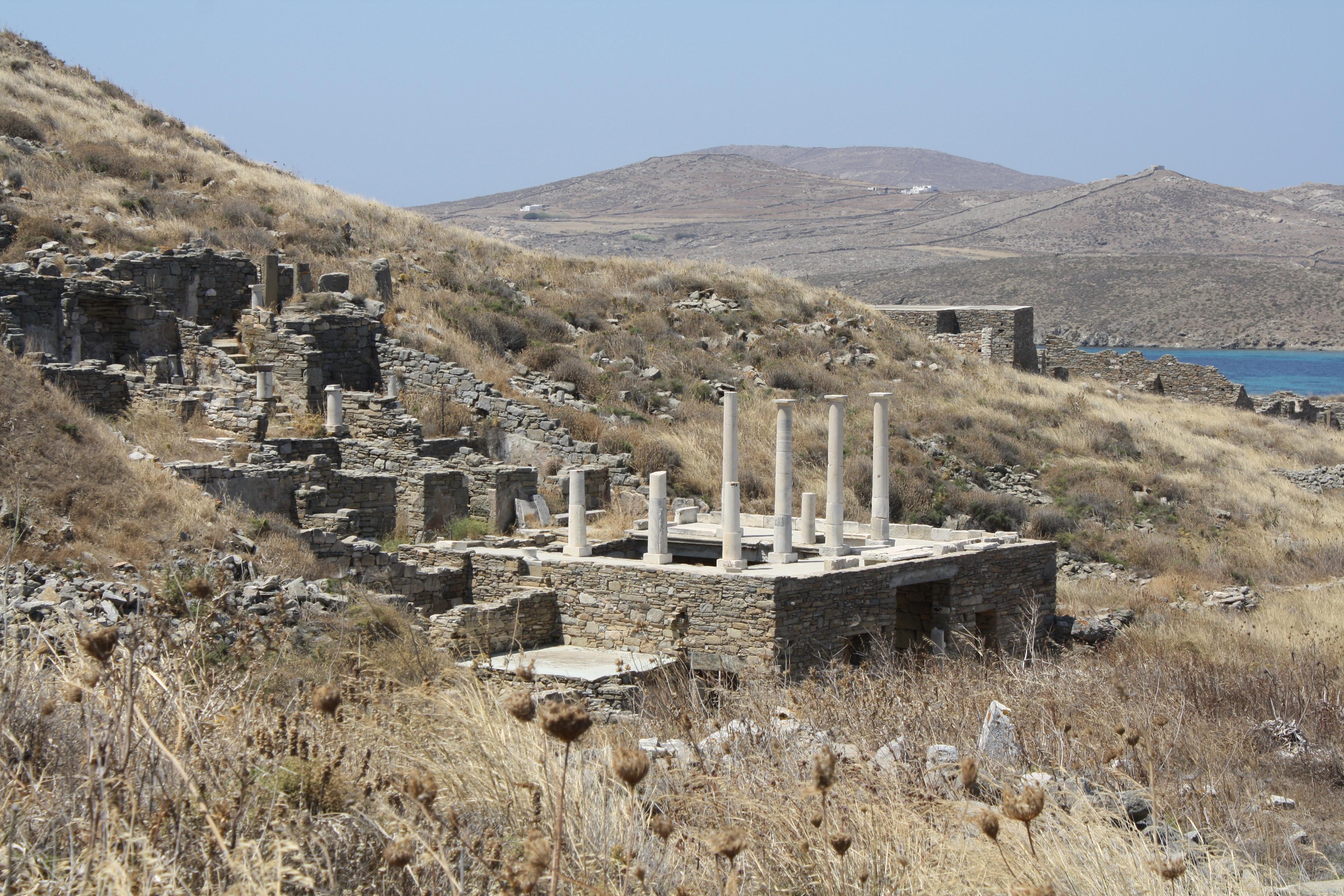 Roman House, Delos (Illustration) - Ancient History ...