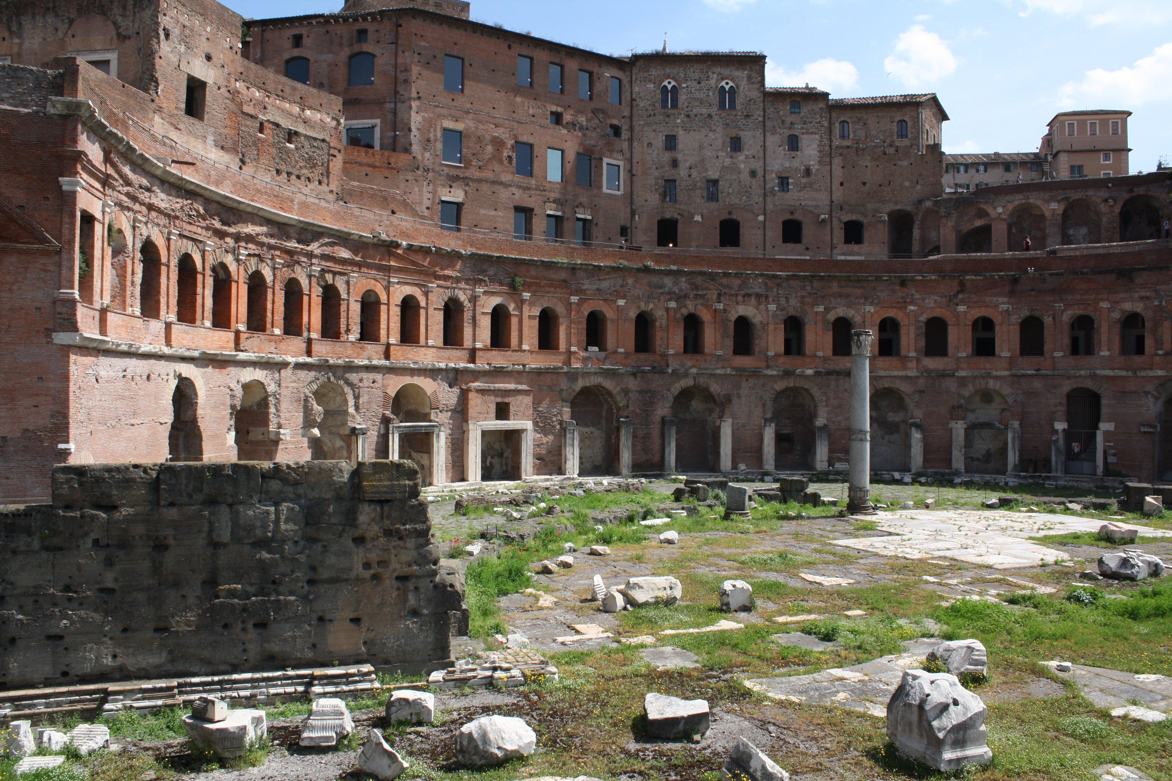 trajan's market (article) - ancient history encyclopedia