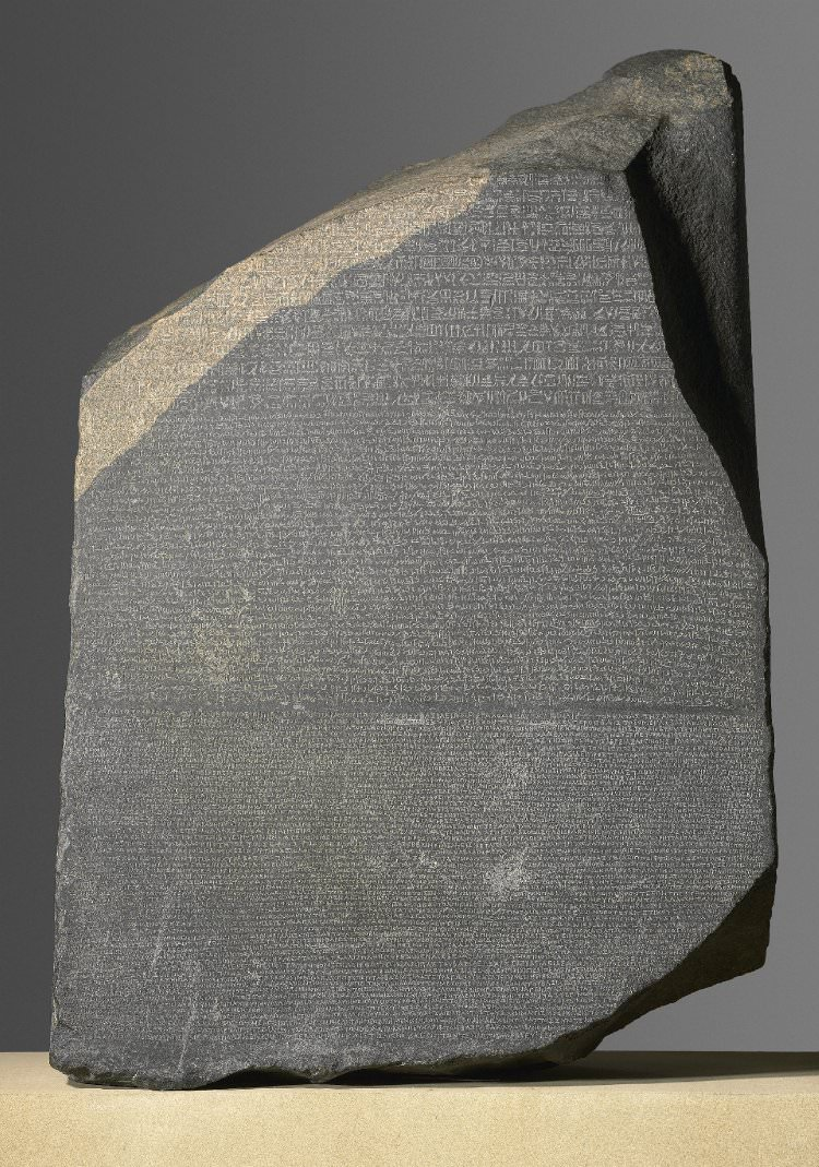 Egyptian hieroglyphs ancient history encyclopedia finally jean franois champollion unravelled the mystery he identified the name of ptolemy v written on the rosetta stone by comparing the hieroglyphs biocorpaavc