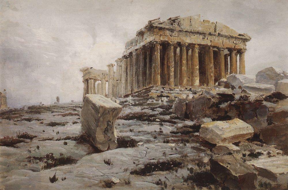 Parthenon (Illustration) - Ancient History Encyclopedia