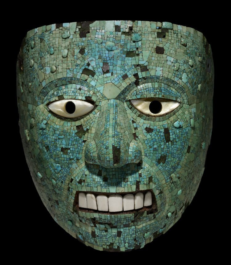 Mask of Xiuhtecuhtli Xiuhtecuhtli Aztec God Of Fire
