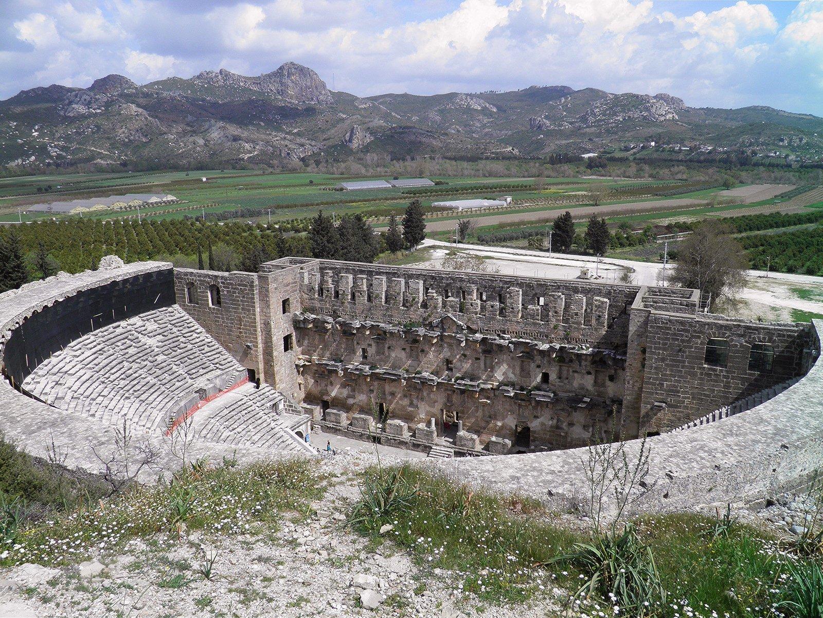 Roman Theatre, Aspendos (Illustration) - Ancient History Encyclopedia