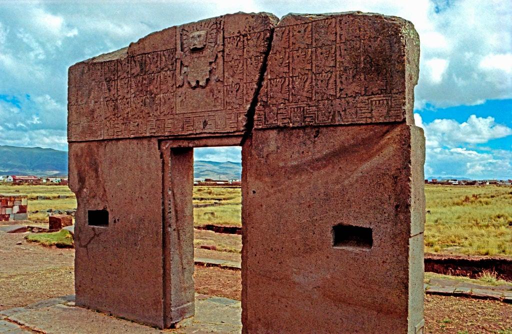 Gateway of the sun tiwanaku illustration ancient - La porta del sole ...