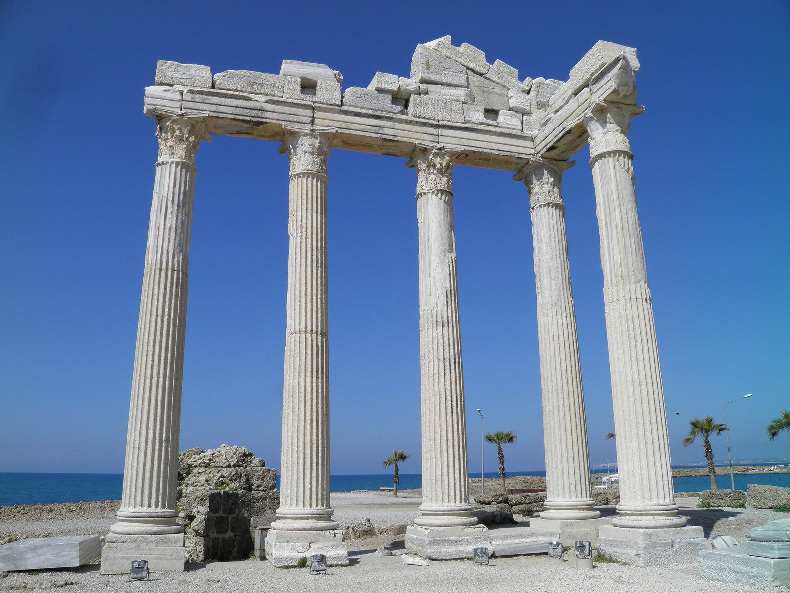 Temple of Apollo, Side (Illustration) -- Ancient History ...