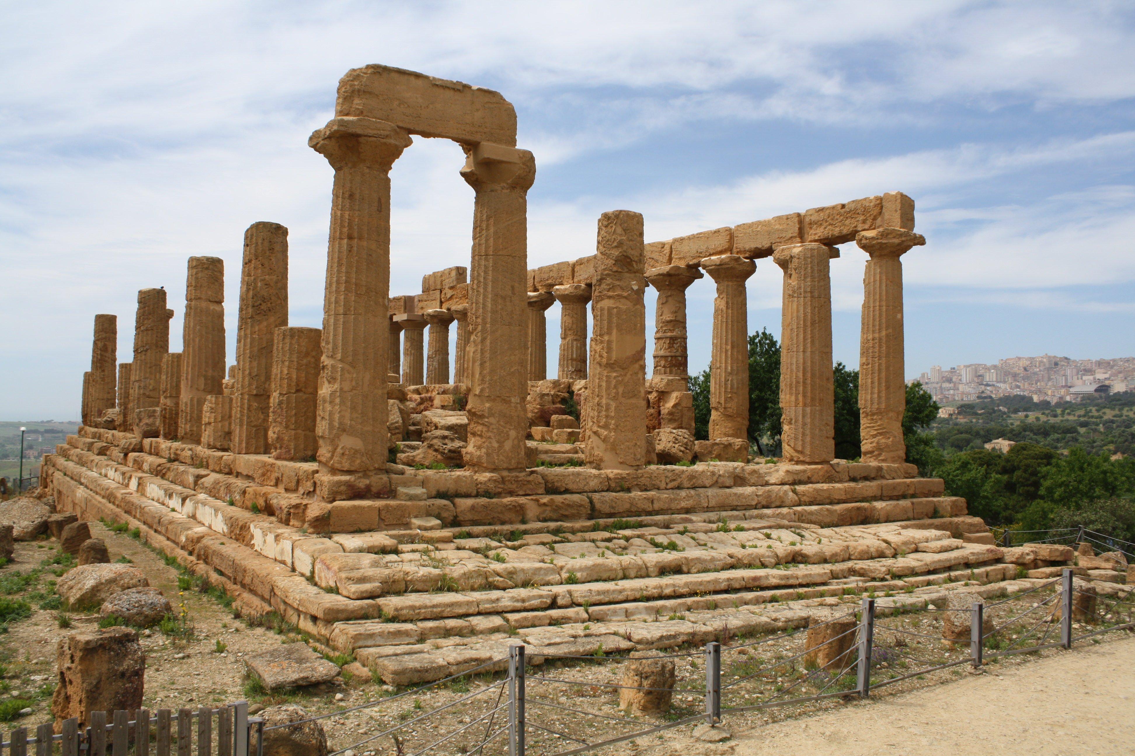 Temple of Juno, Agrigento (Illustration) - Ancient History ...