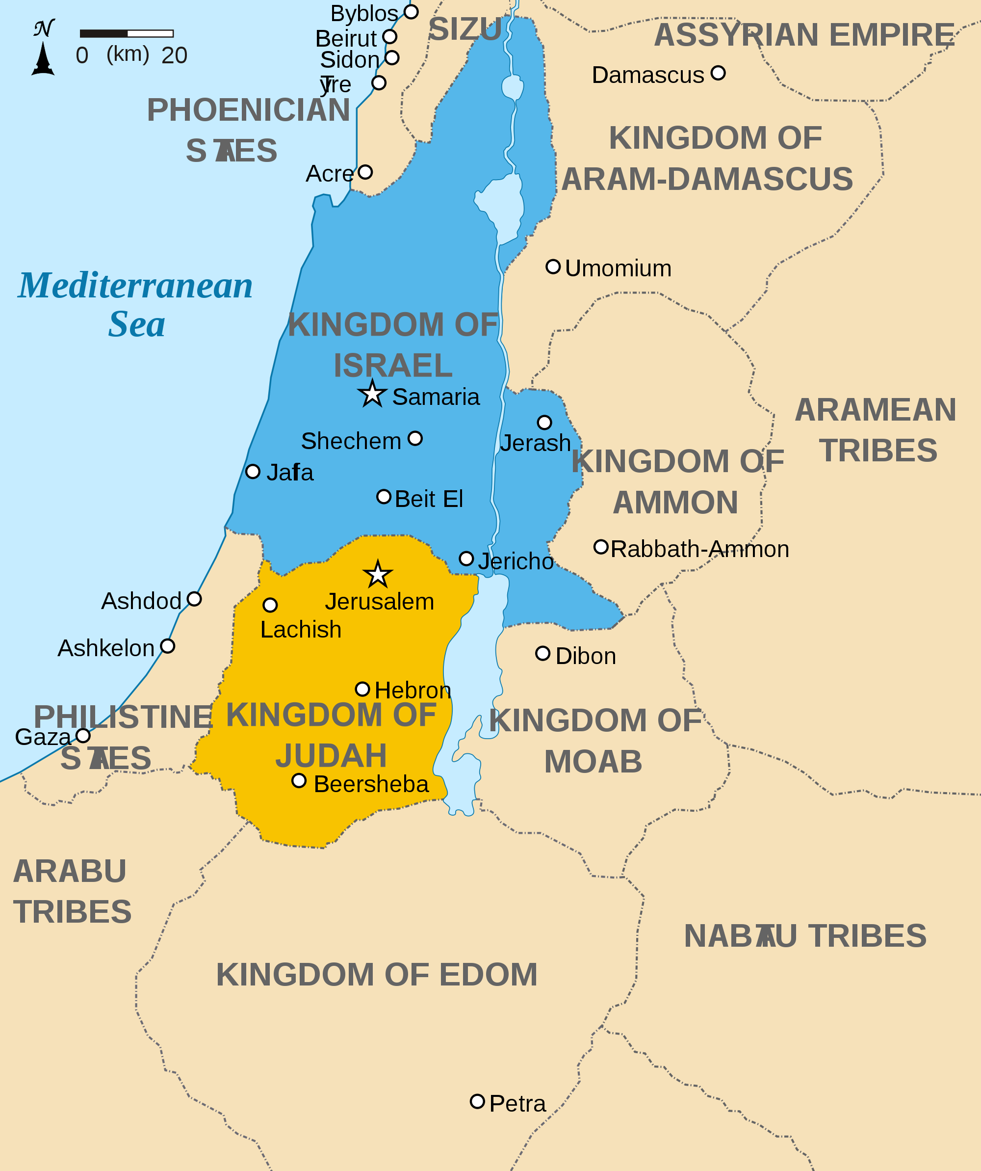 Mesopotamian Effects On Israel During The Iron Age Article - Map of egypt mesopotamia and israel