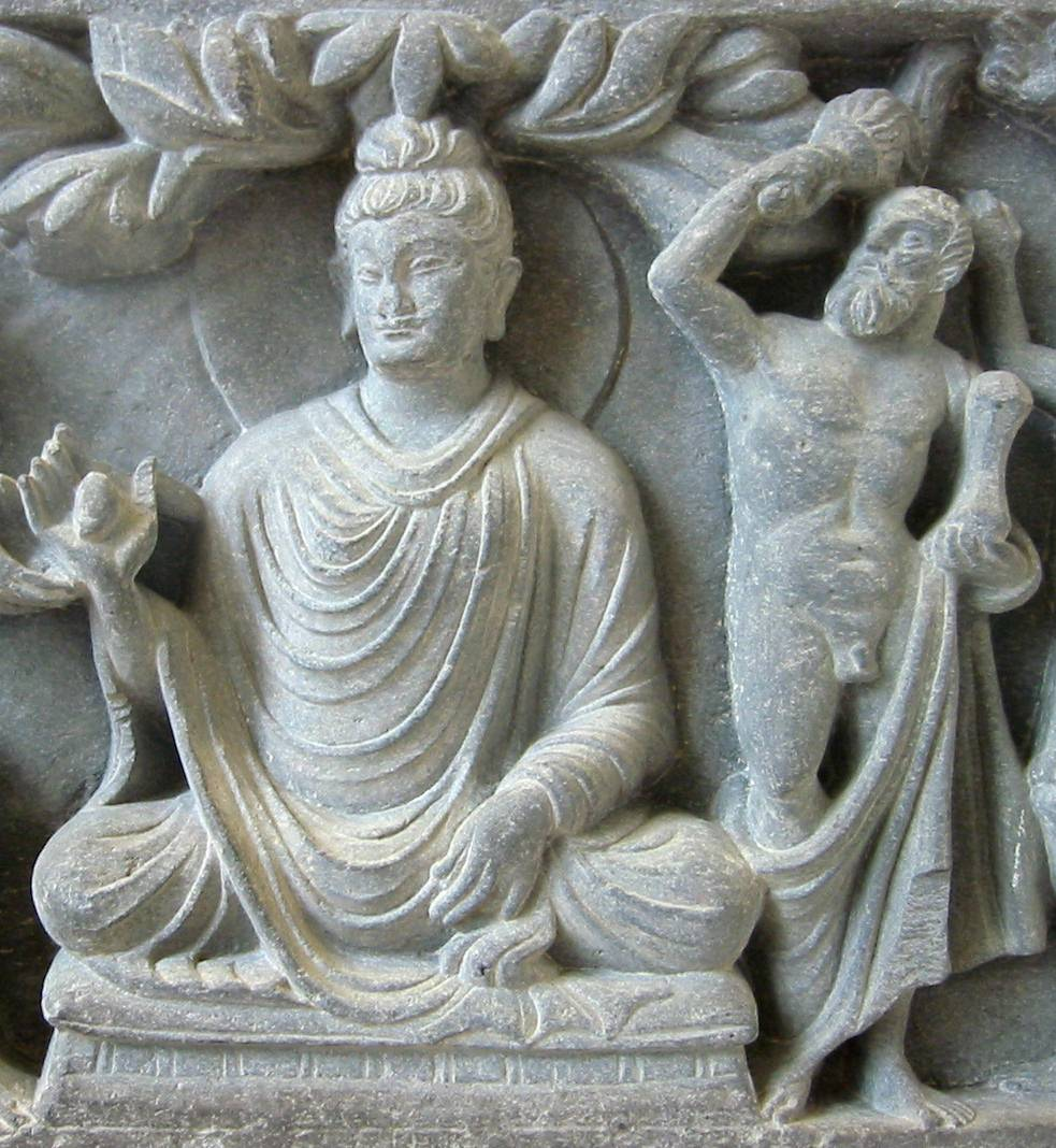 Buddha With Hercules Protector Illustration Ancient History Encyclopedia