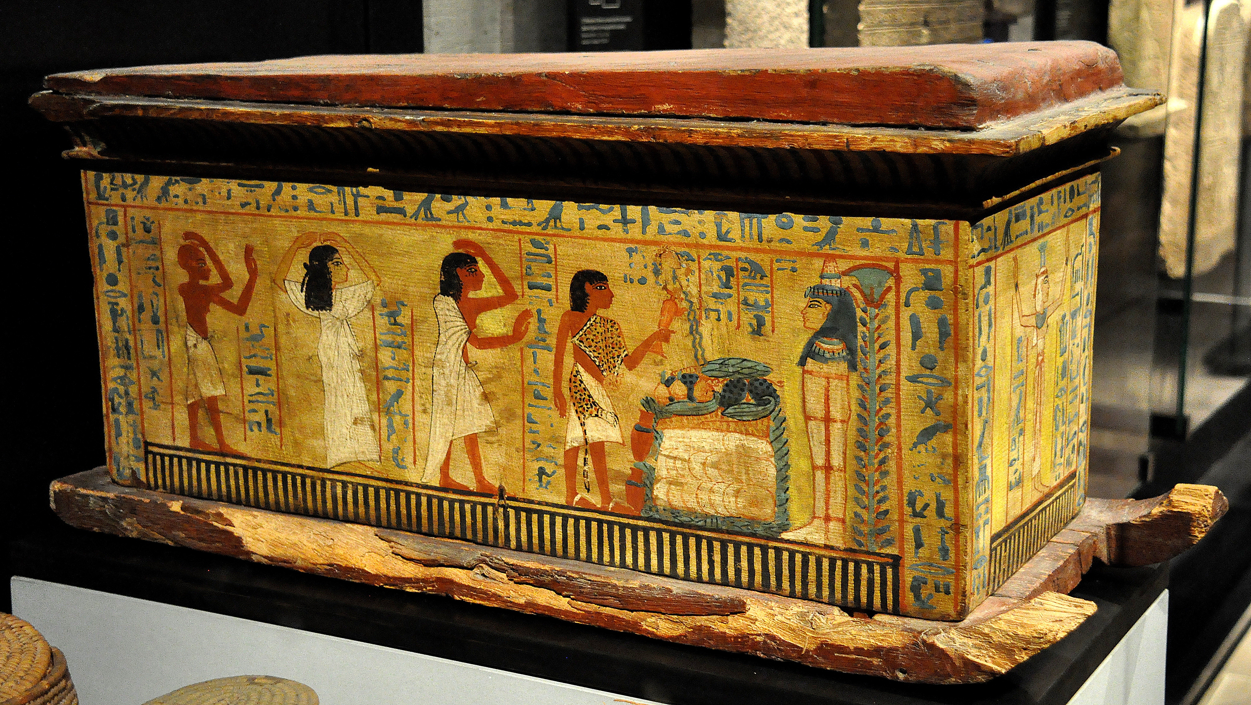 The egyptian afterlife the feather of truth article ancient egyptian childs coffin biocorpaavc Gallery