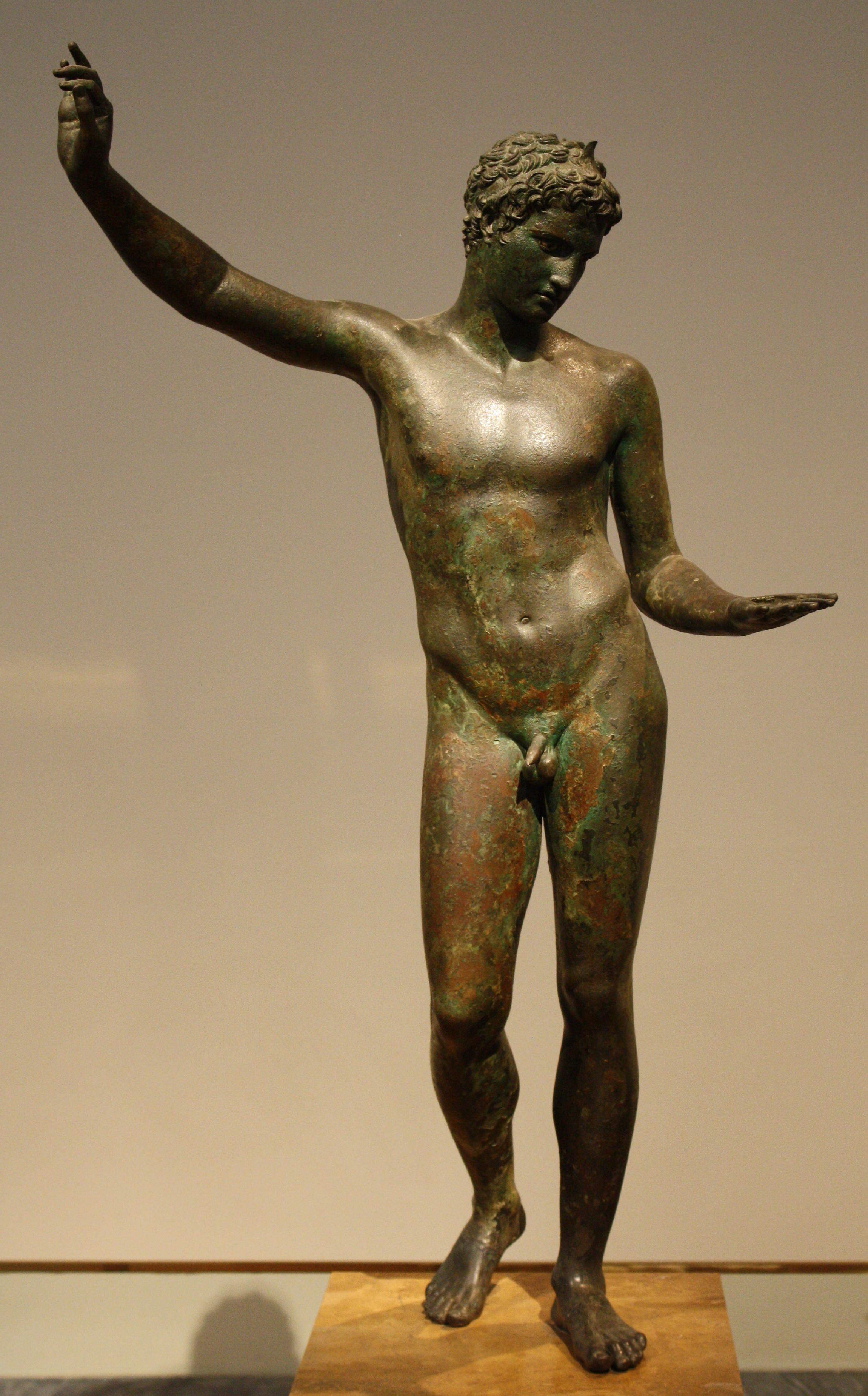 Bronze Greek Athlete Illustration Ancient History