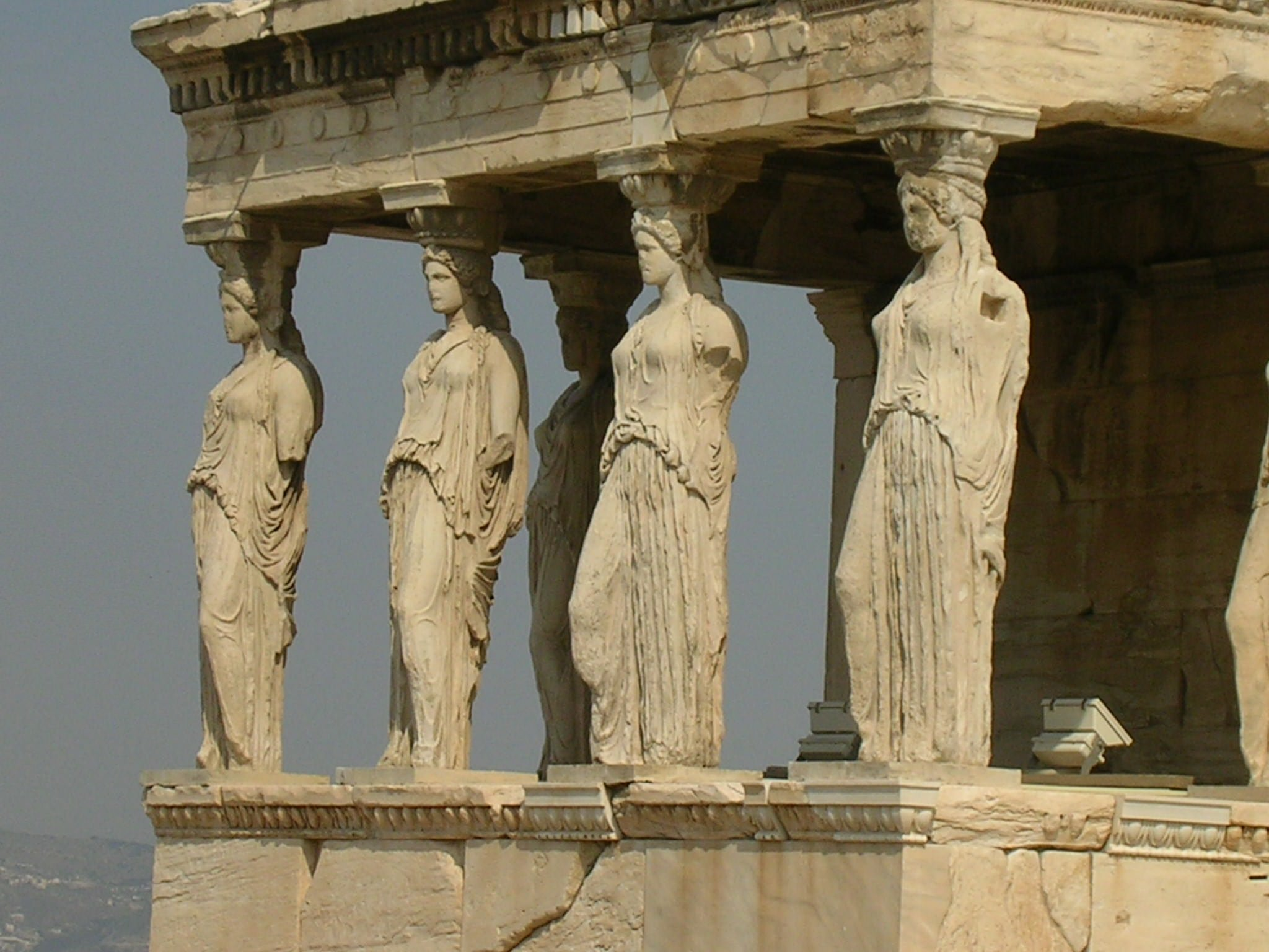 Caryatid (Illustration) - Ancient History Encyclopedia