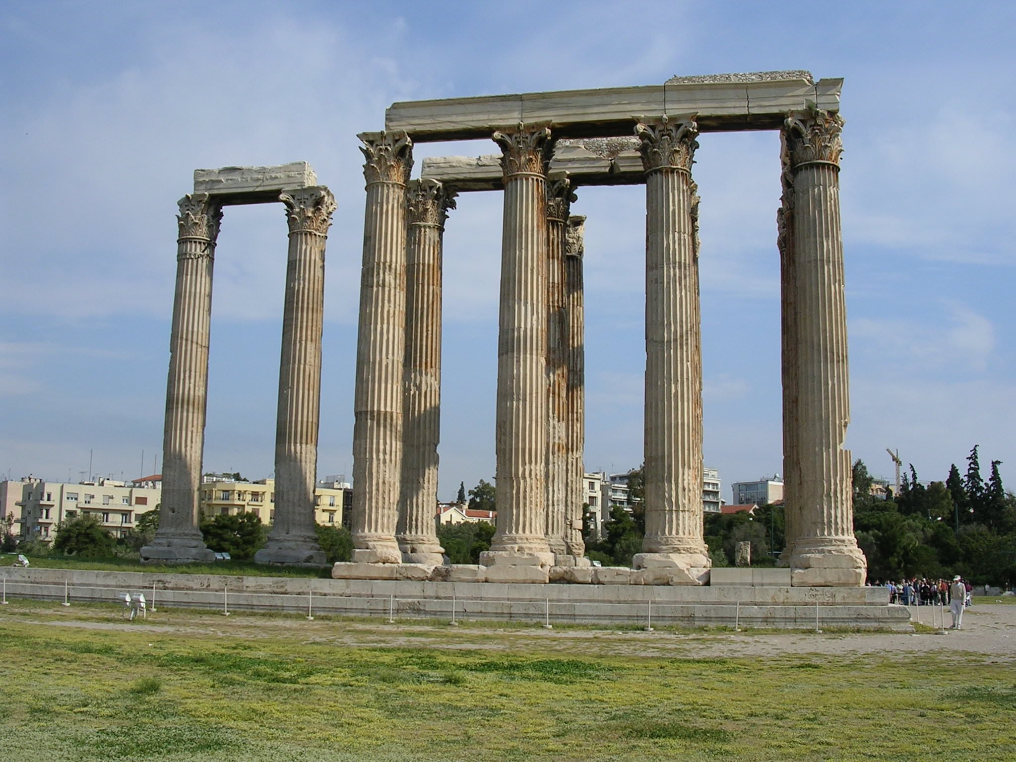 Temple of Olympian Zeus, Athens (Illustration) - Ancient ...