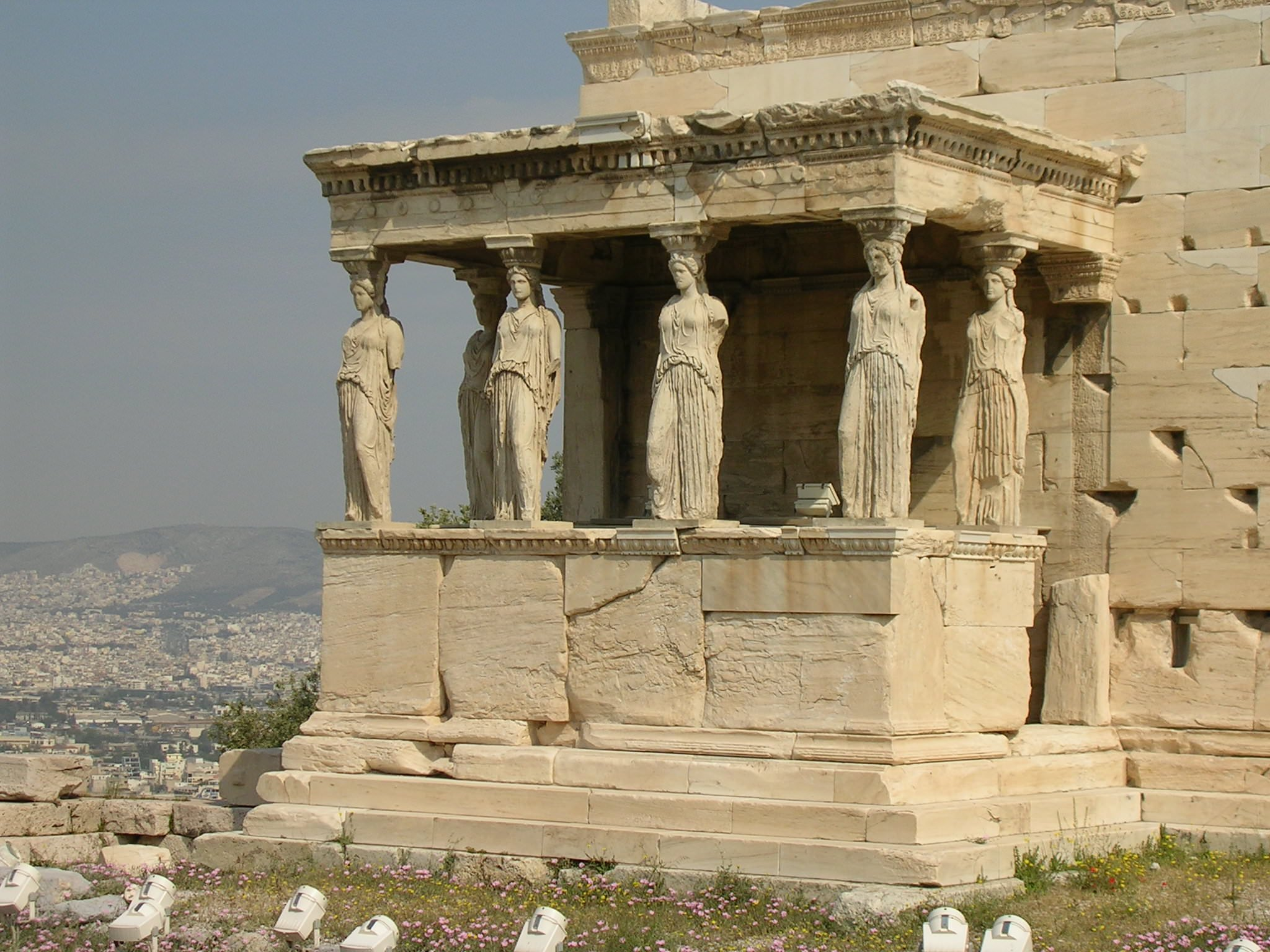 The Erechtheion, Athens (Illustration) - Ancient History ...