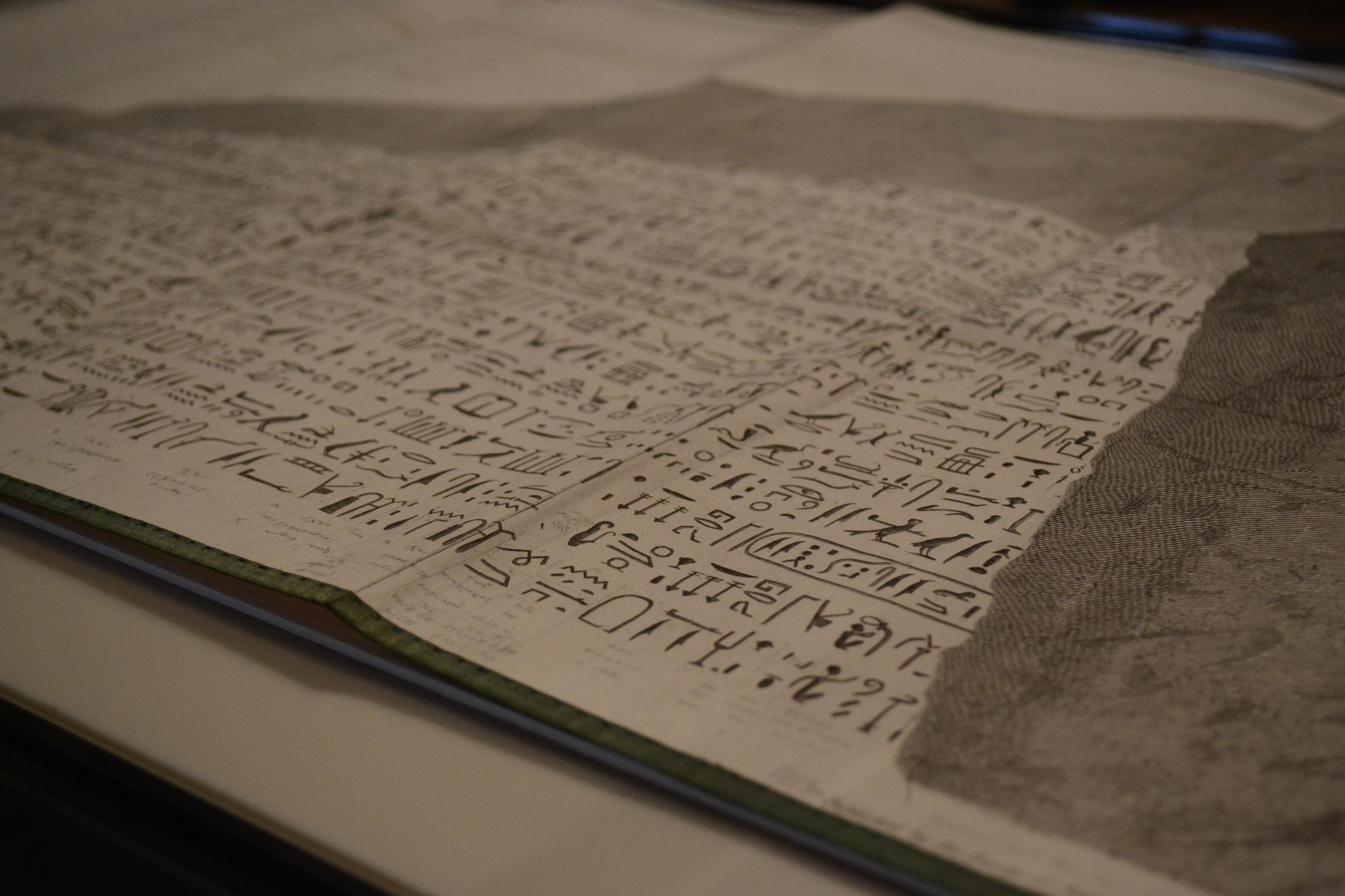 Egyptian hieroglyphs ancient history encyclopedia champollions notes from the rosetta stone biocorpaavc
