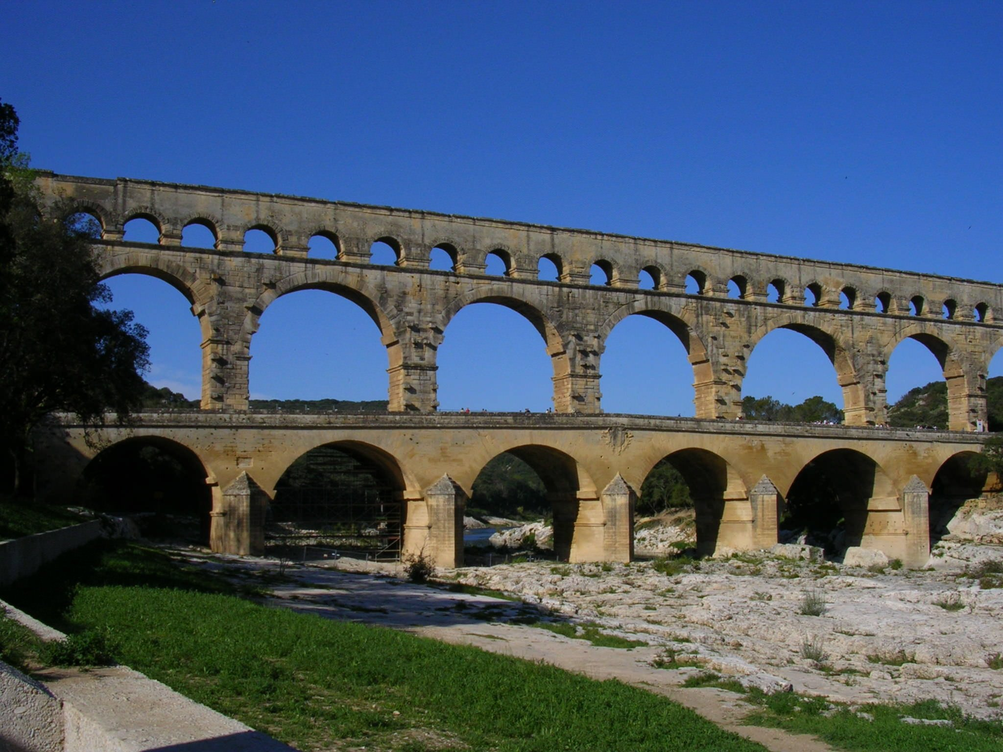 pont du gard france - Roman Architecture