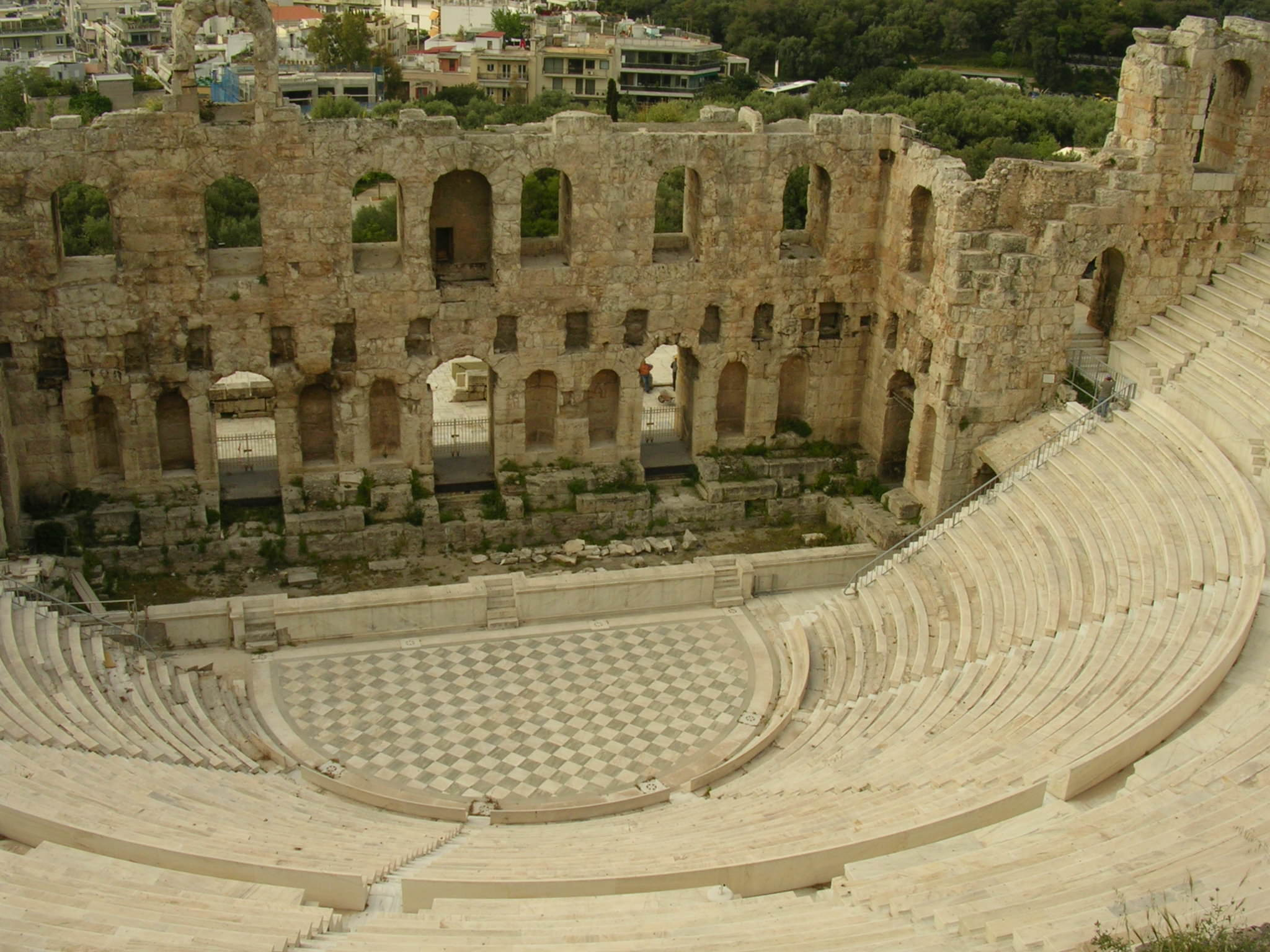 Odeon Of Herodes Atticus, Athens (Illustration) - Ancient ...