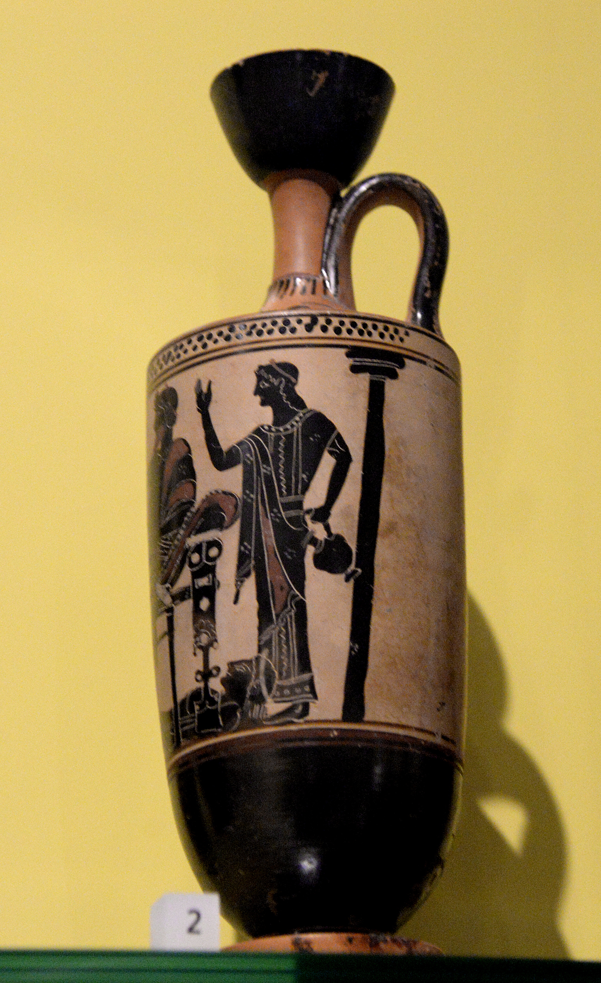 Lekythos with the ransom of hector scene illustration ancient oil especially olive oil was stored in specialized greek pottery lekythos pleural lekythoi many lekythoi were found inside tombs they were used to reviewsmspy