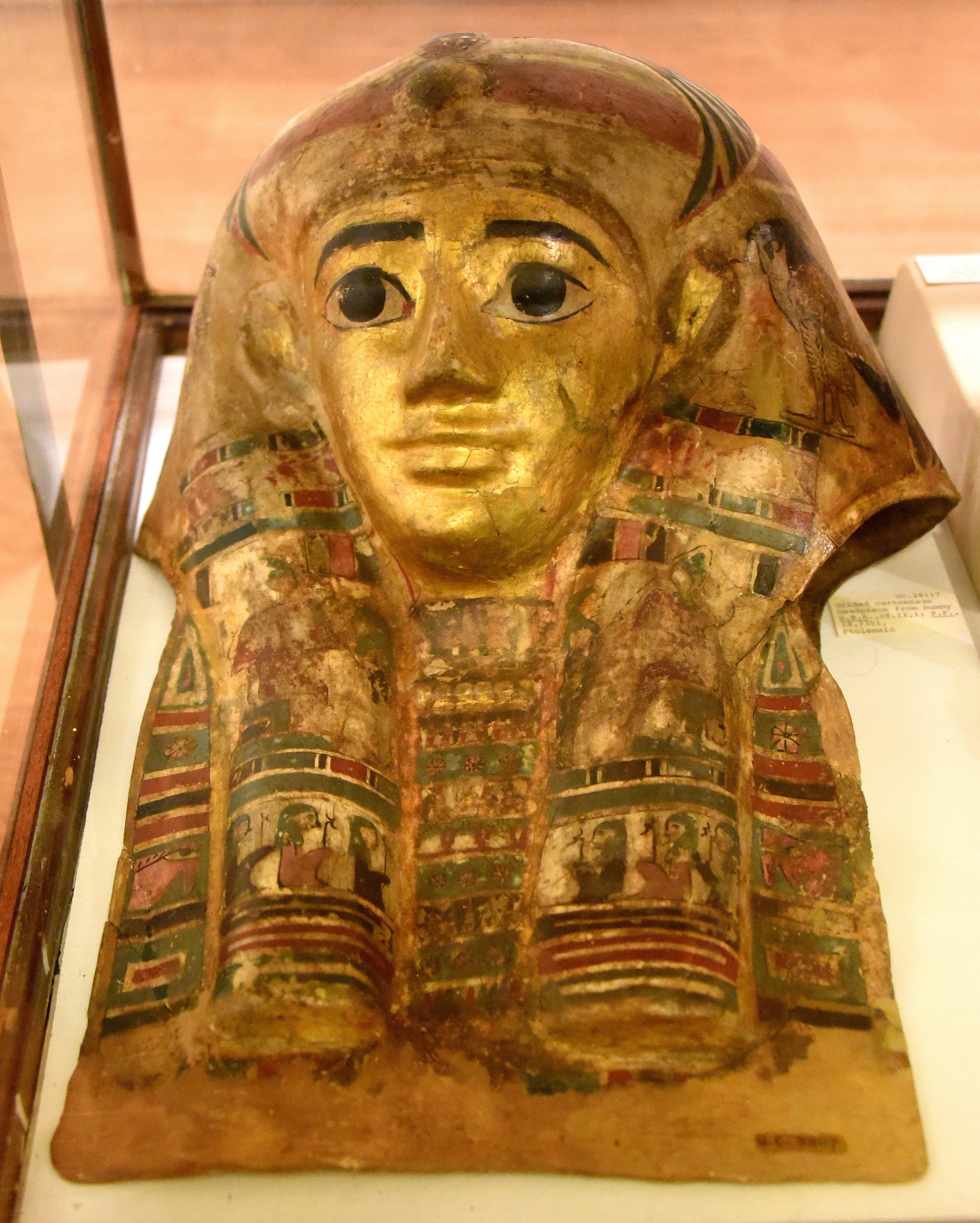 Gilded Face Mask (Illustration) - Ancient History Encyclopedia