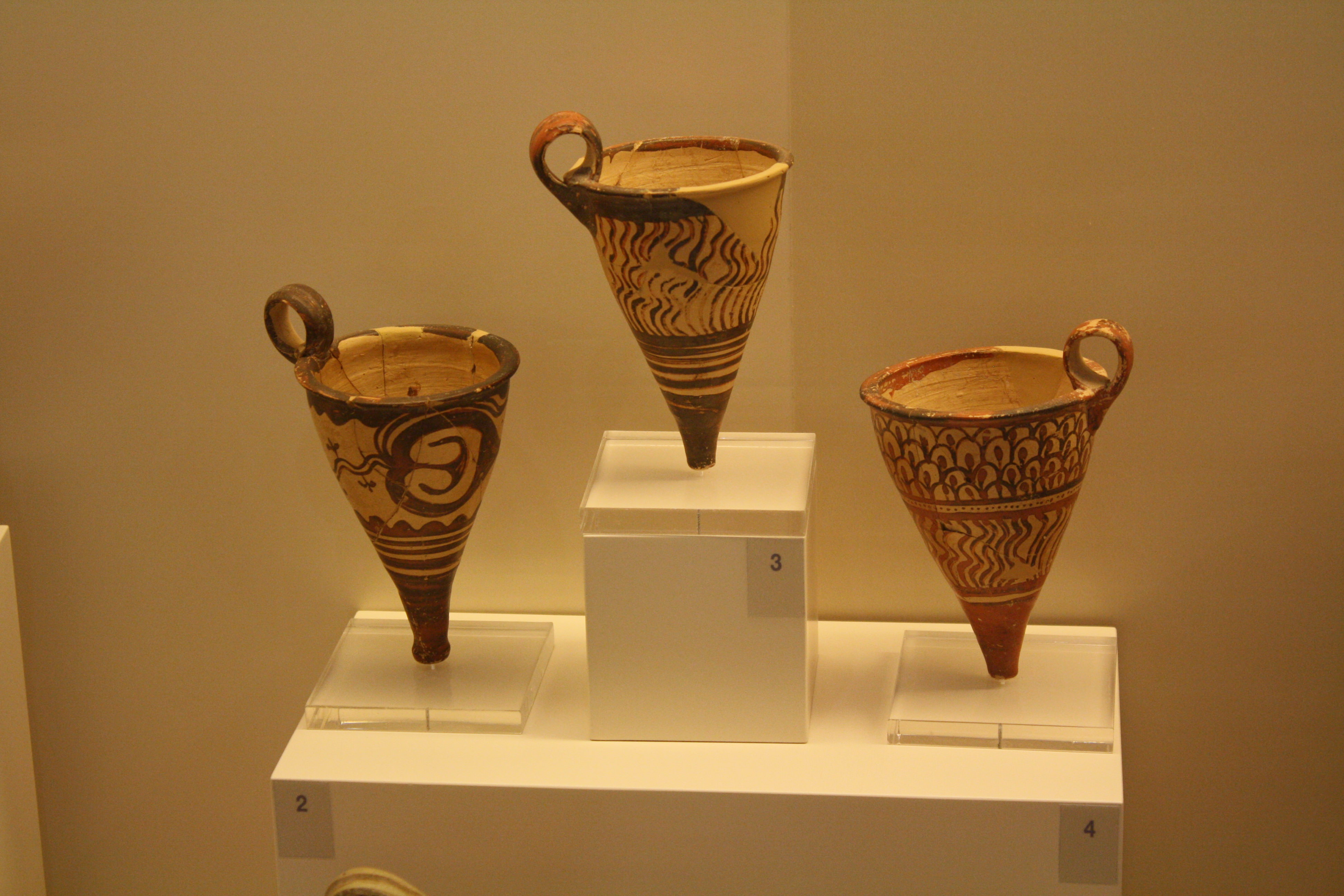 A visual glossary of greek pottery article ancient history rhyton pl rhyta used in relgious practices for the pouring of libations they may also take the shape of animal heads especially bulls reviewsmspy
