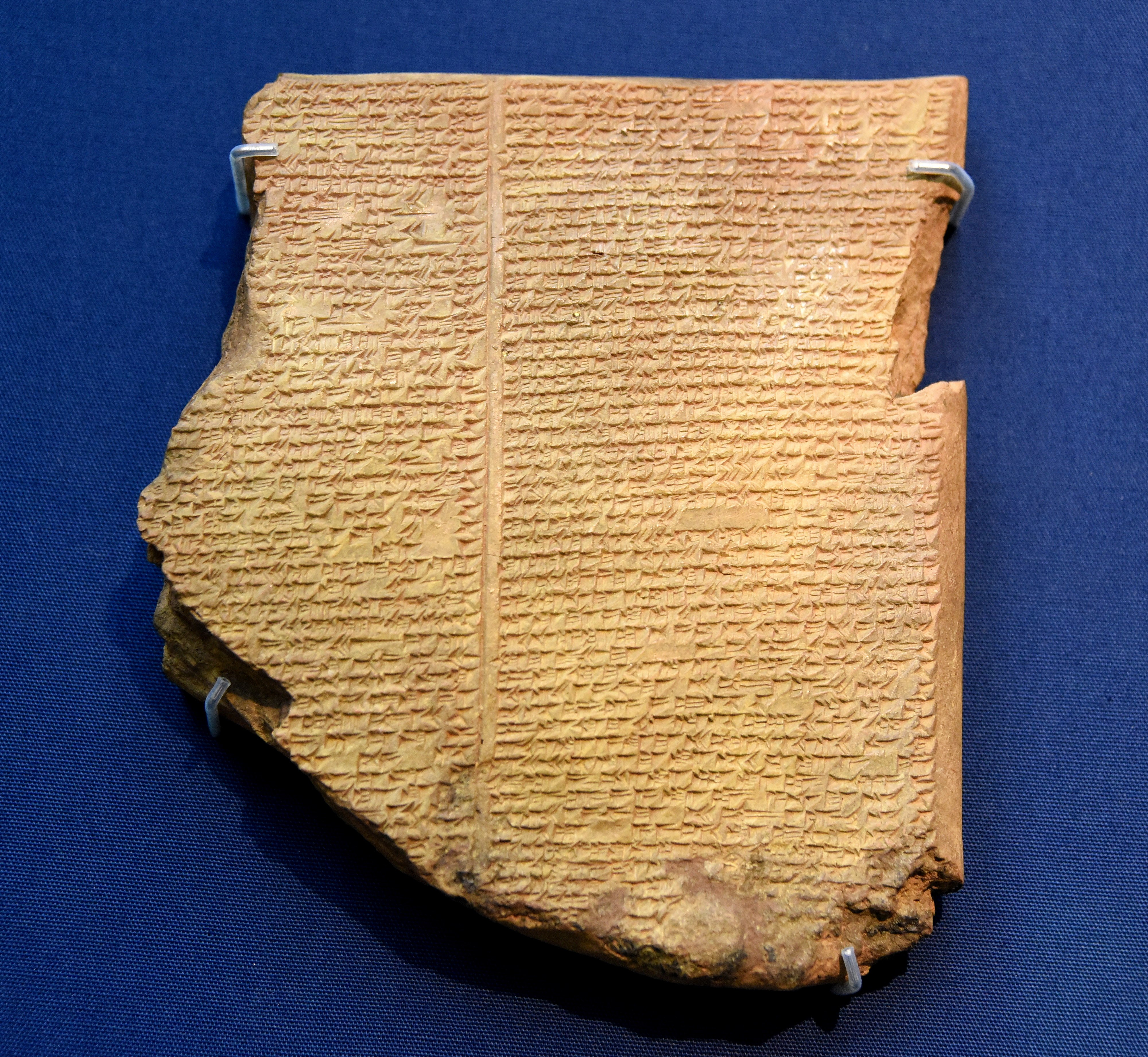 the eternal life of gilgamesh article history encyclopedia flood tablet of the epic of gilgamesh