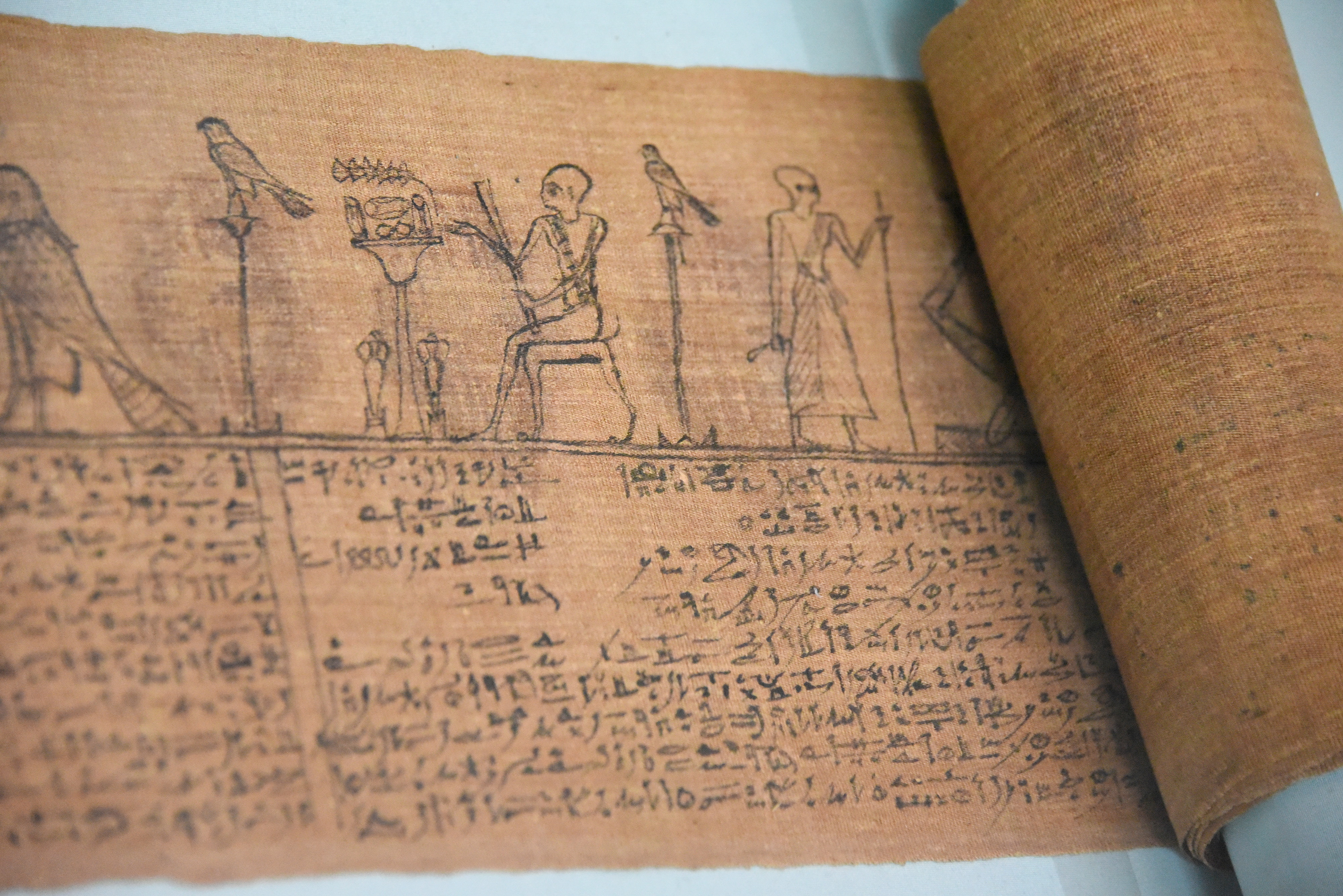 Ancient egyptian writing ancient history encyclopedia hieratic book of the dead of padimin hieroglyphics continued to be used throughout egypts biocorpaavc