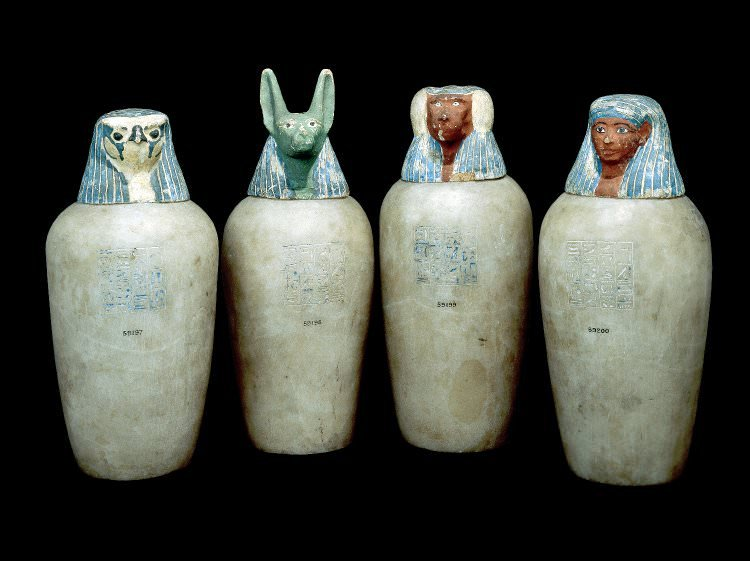Canopic Jars Of Neskhons Illustration Ancient History Encyclopedia