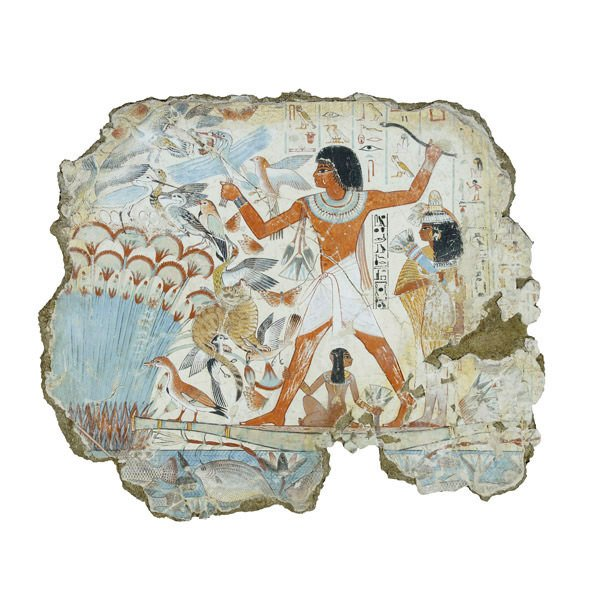 The Conservation And Redisplay Of The Nebamun Wall Paintings Wall Art
