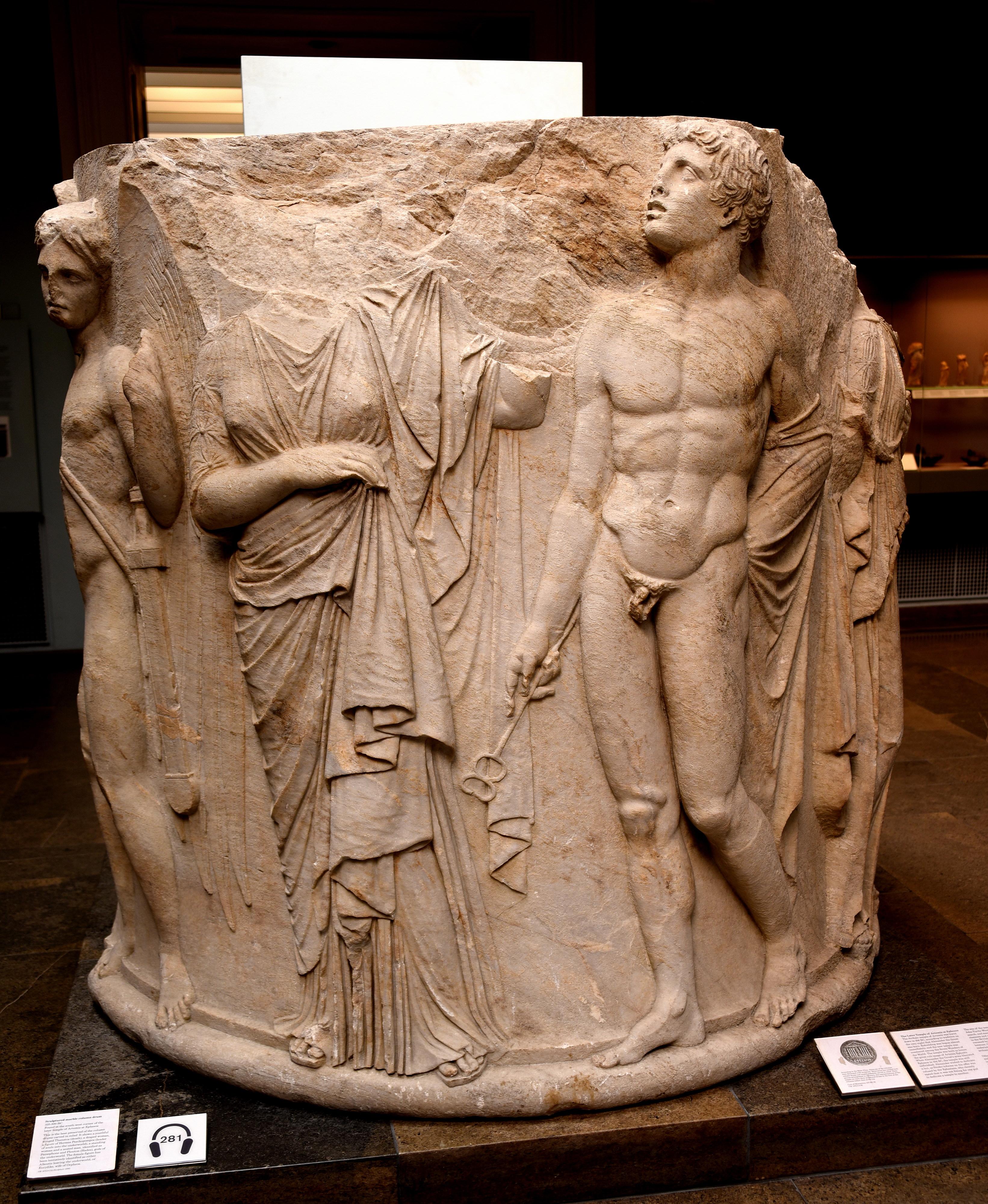 Column Drum from the Temple of Artemis, Ephesus